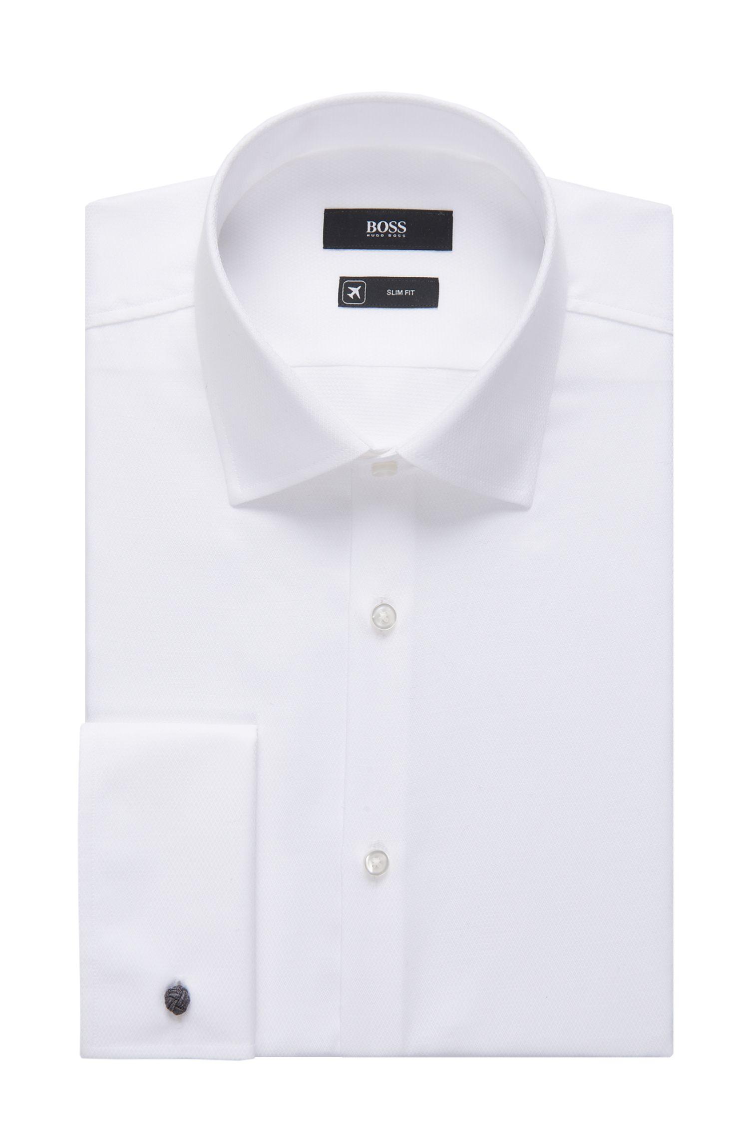 'Jacques' | Slim Fit, Italian Cotton French Cuff Dress Shirt