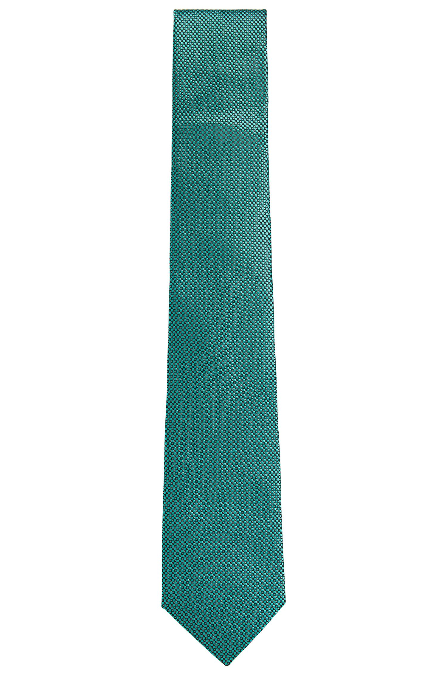 BOSS Tailored Birdseye Italian Silk Tie