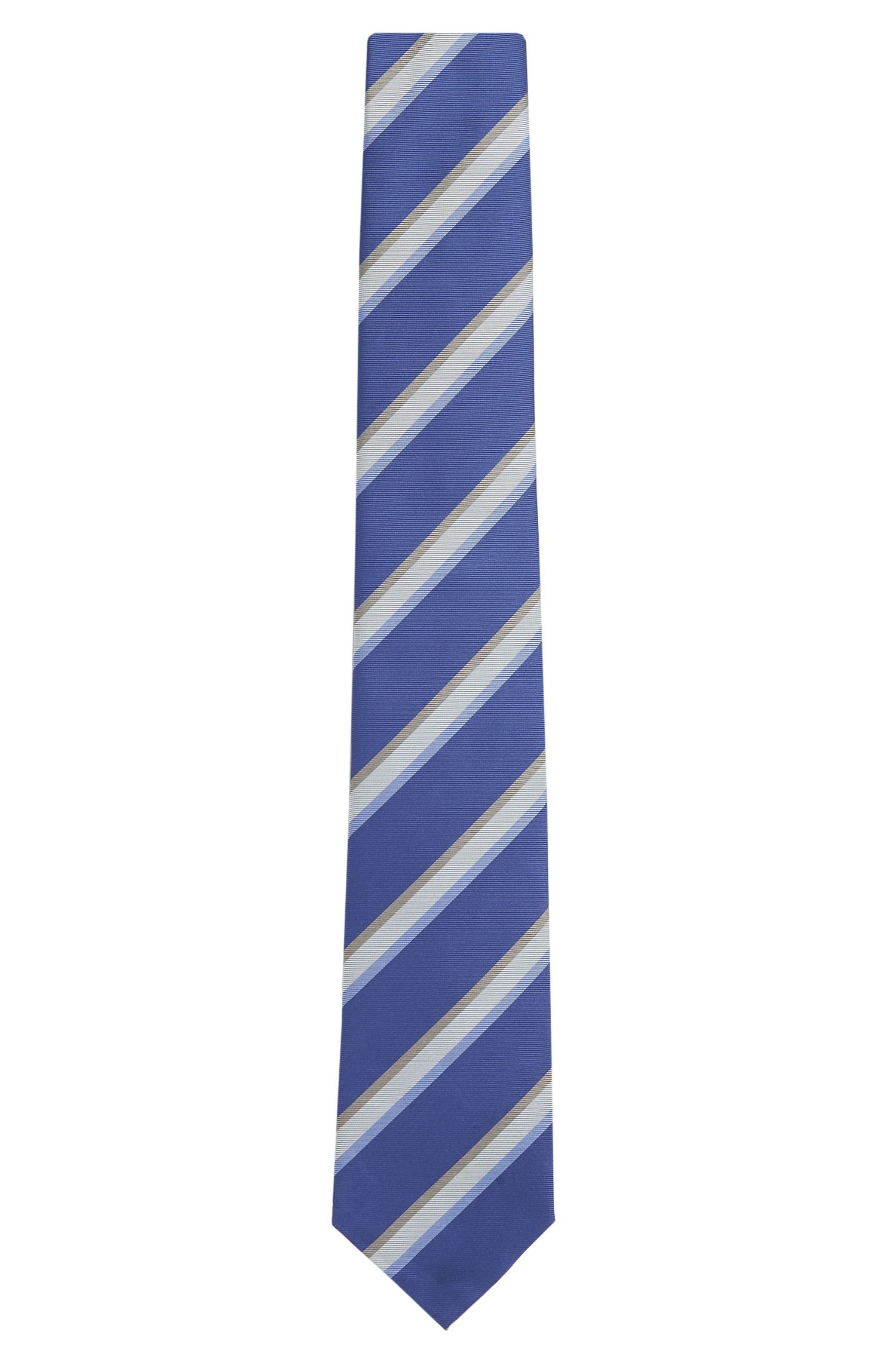 Striped Silk Tie | T-Tie 7.5 cm