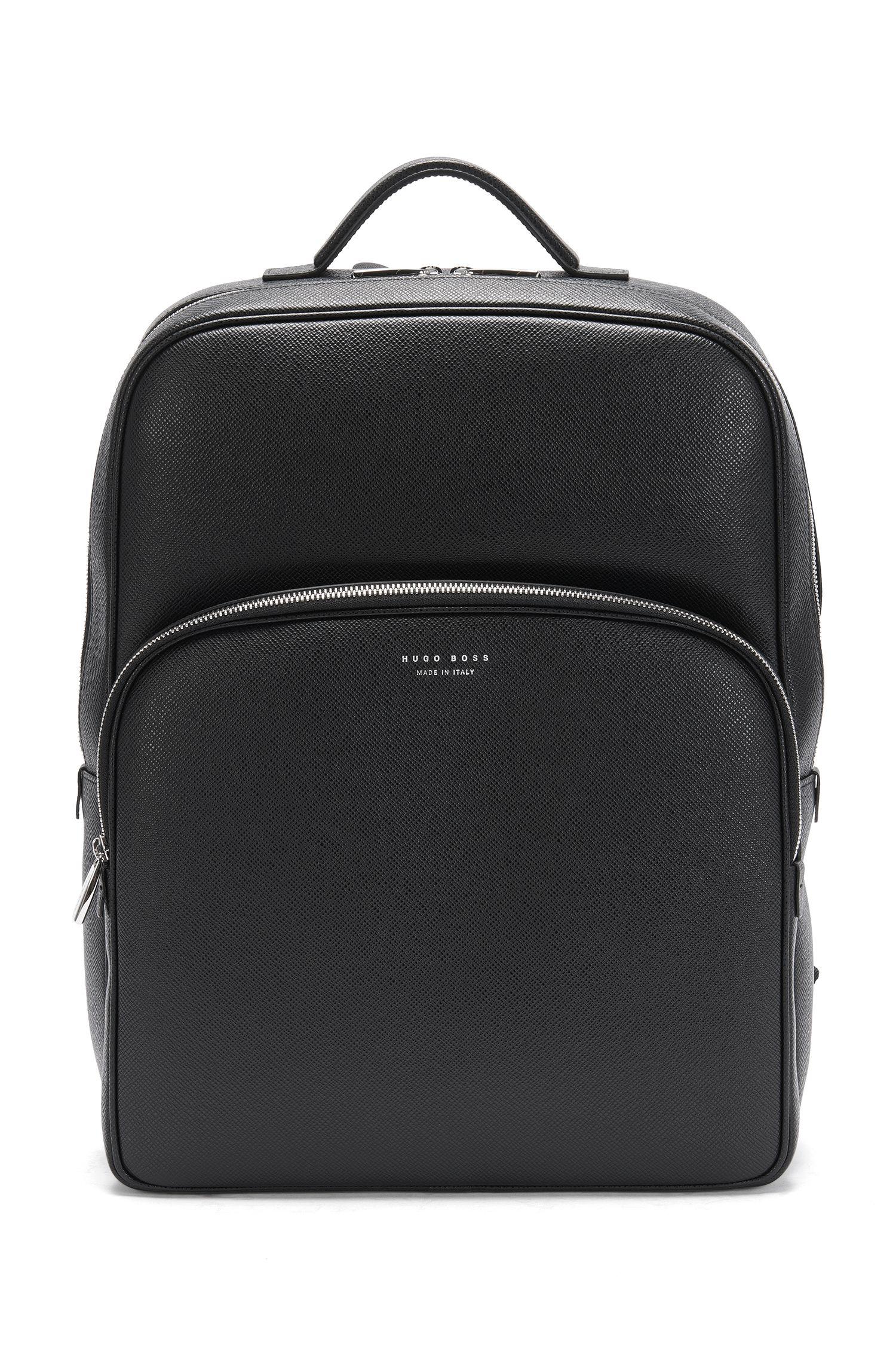 'Signature B Backpack' | Calfskin Palmellato Backpack