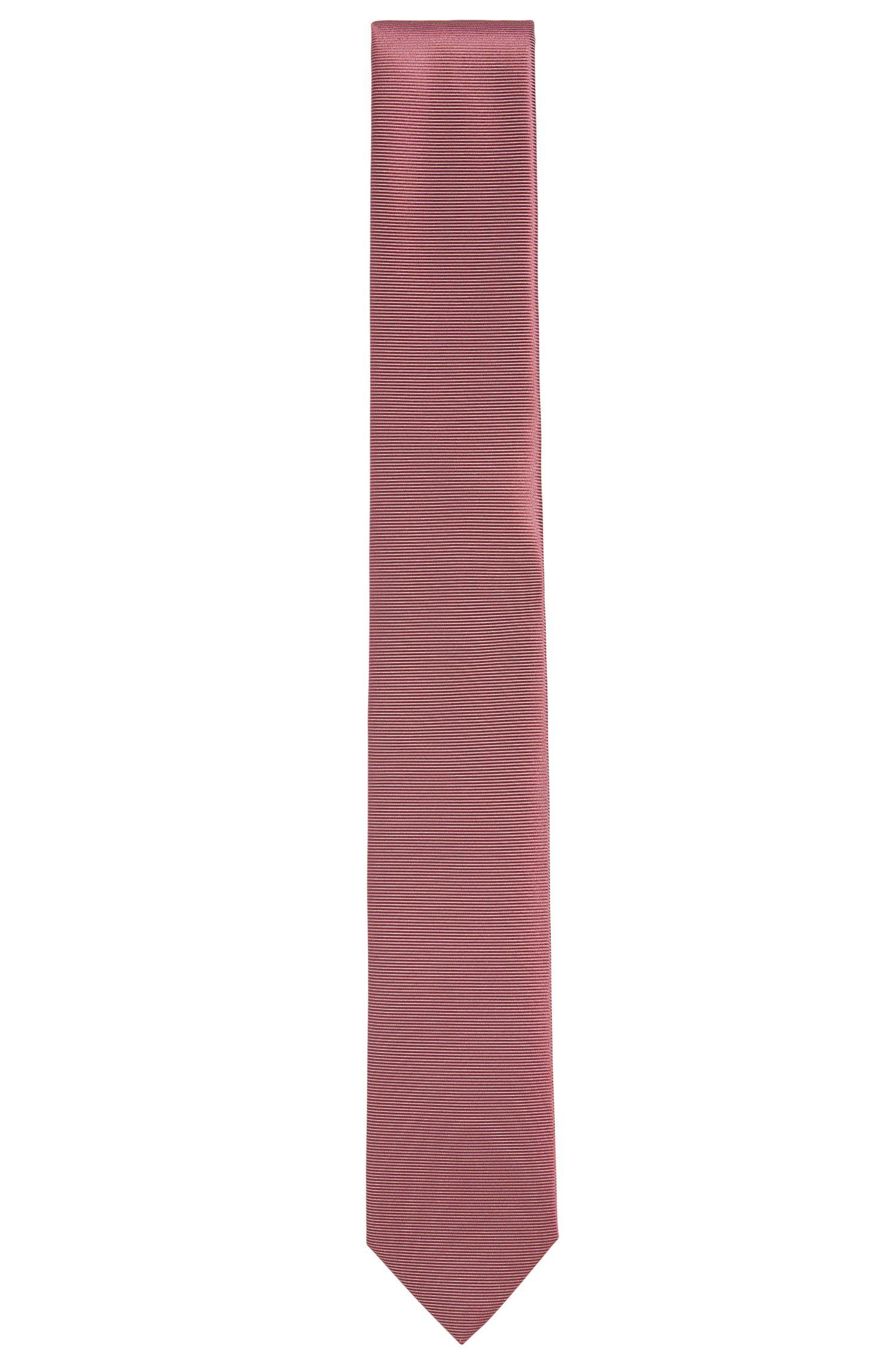 'T-Tie 6 cm'   Slim, Italian Silk Tie