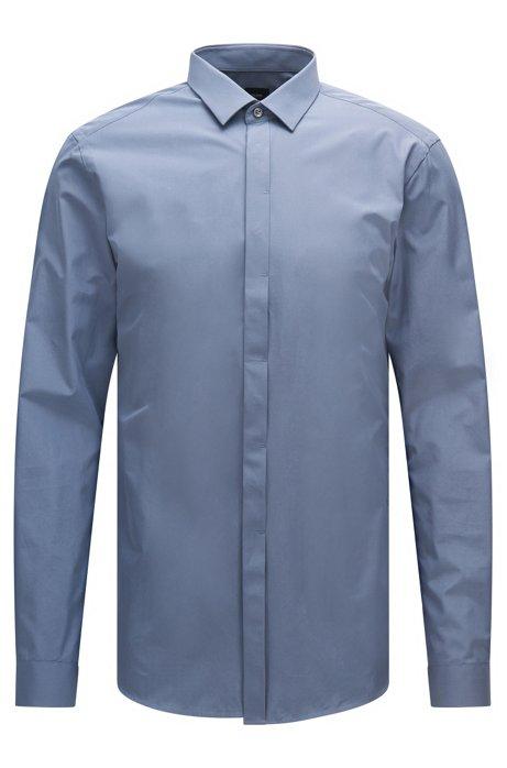a27e63c4b BOSS - 2-Ply Cotton Dress Shirt, Slim Fit | T-Craig