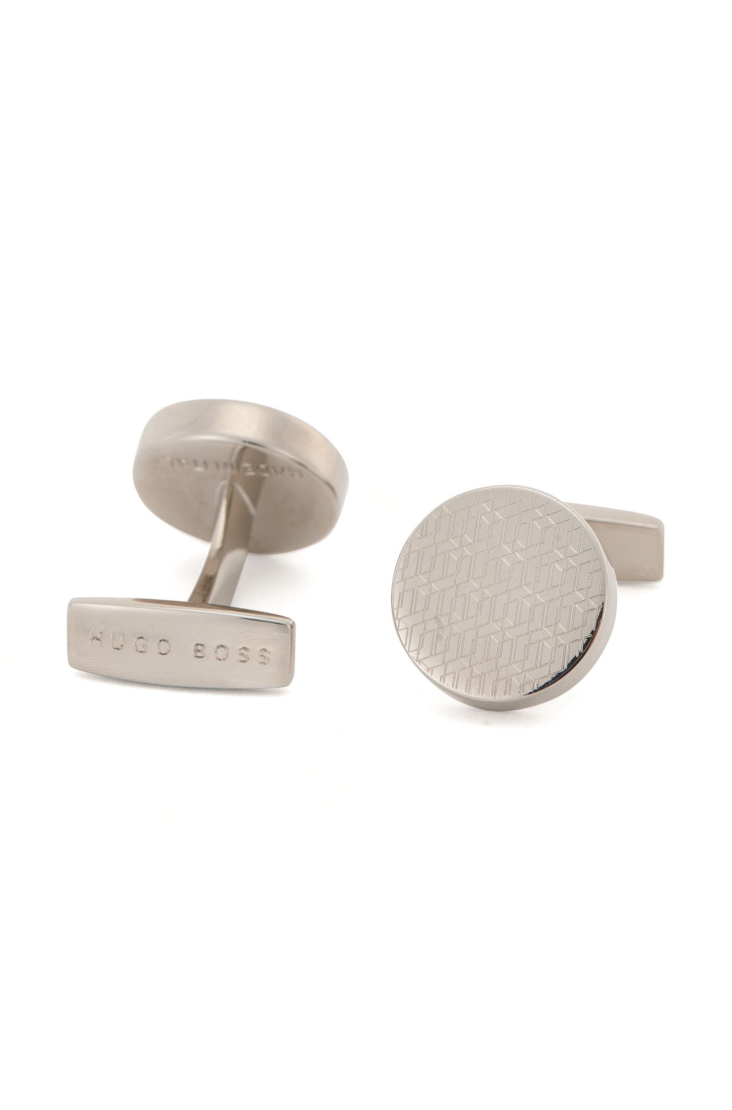 Polished Brass Cufflinks | Jonny