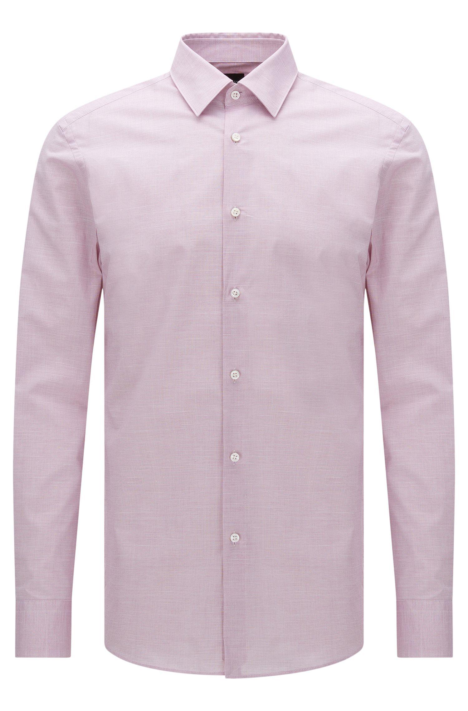 Italian Stretch Cotton Dress Shirt, Slim Fit | T-Clint