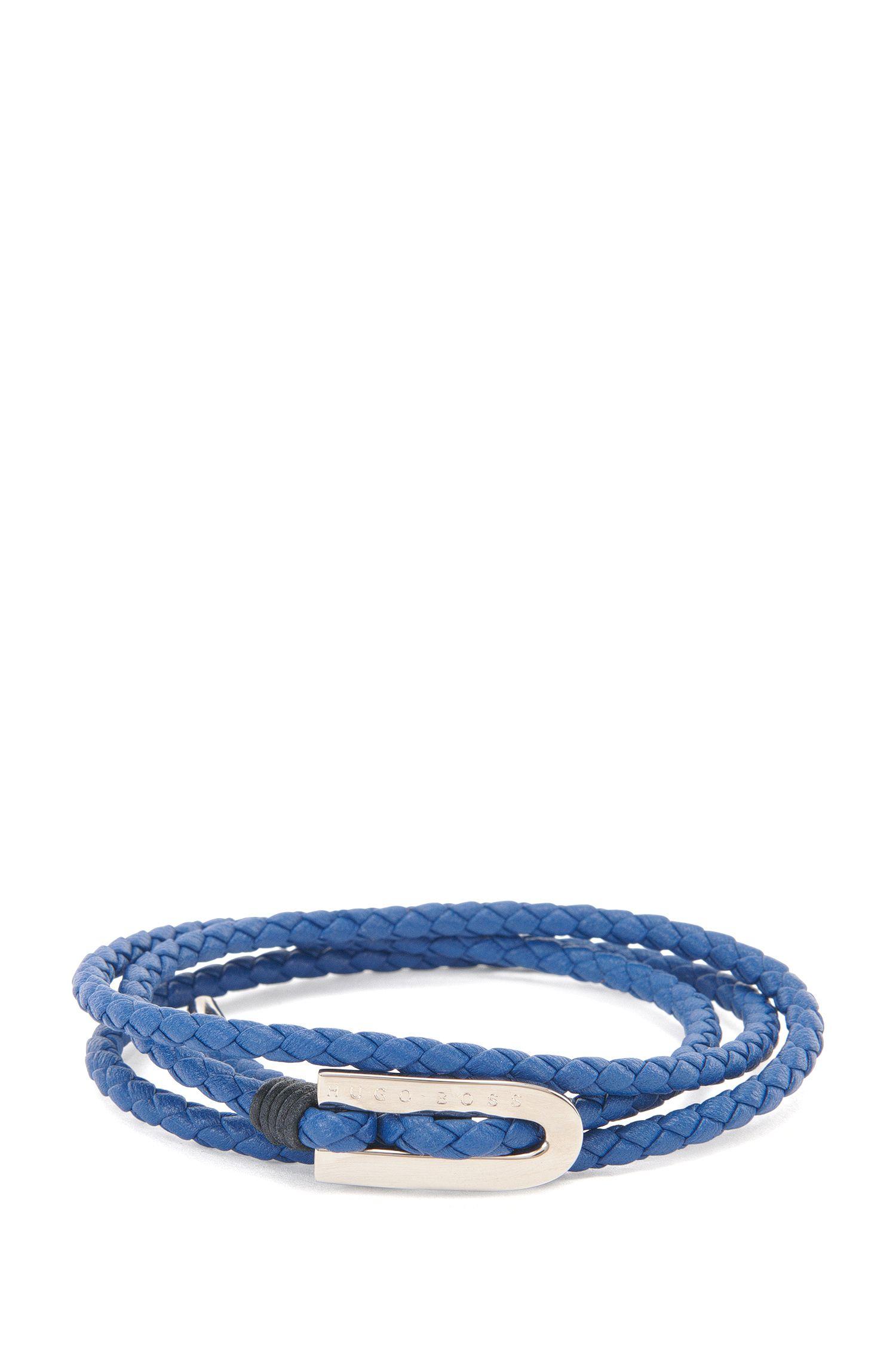 'Barney' | Calfskin Braided Bracelet