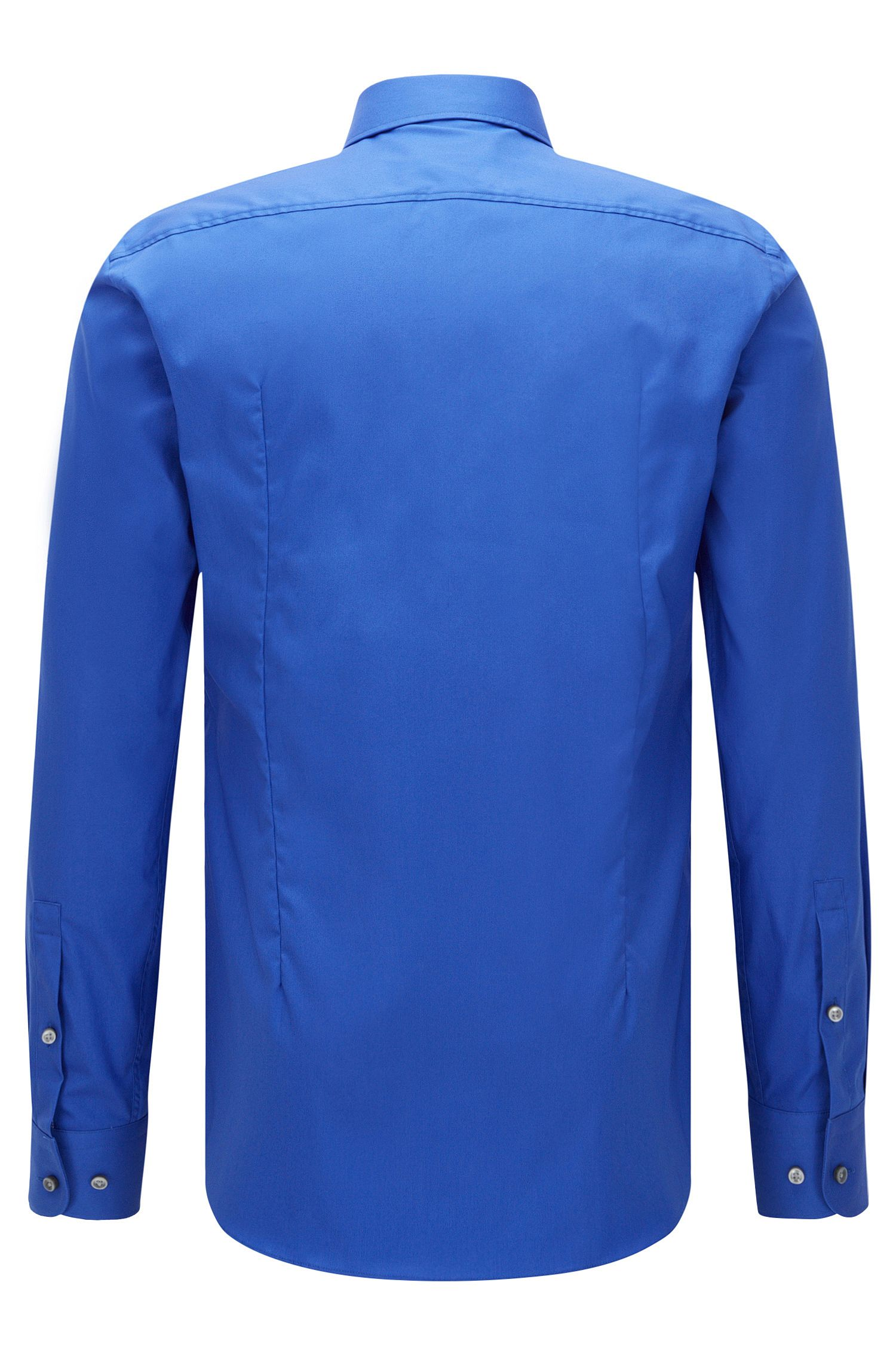 Easy Iron Italian Cotton Dress Shirt, Slim Fit   Jerrin