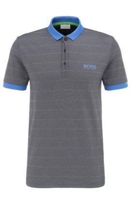 'Paddy MK' | Modern Fit, Moisture Manager Stretch Polo Shirt, Dark Blue