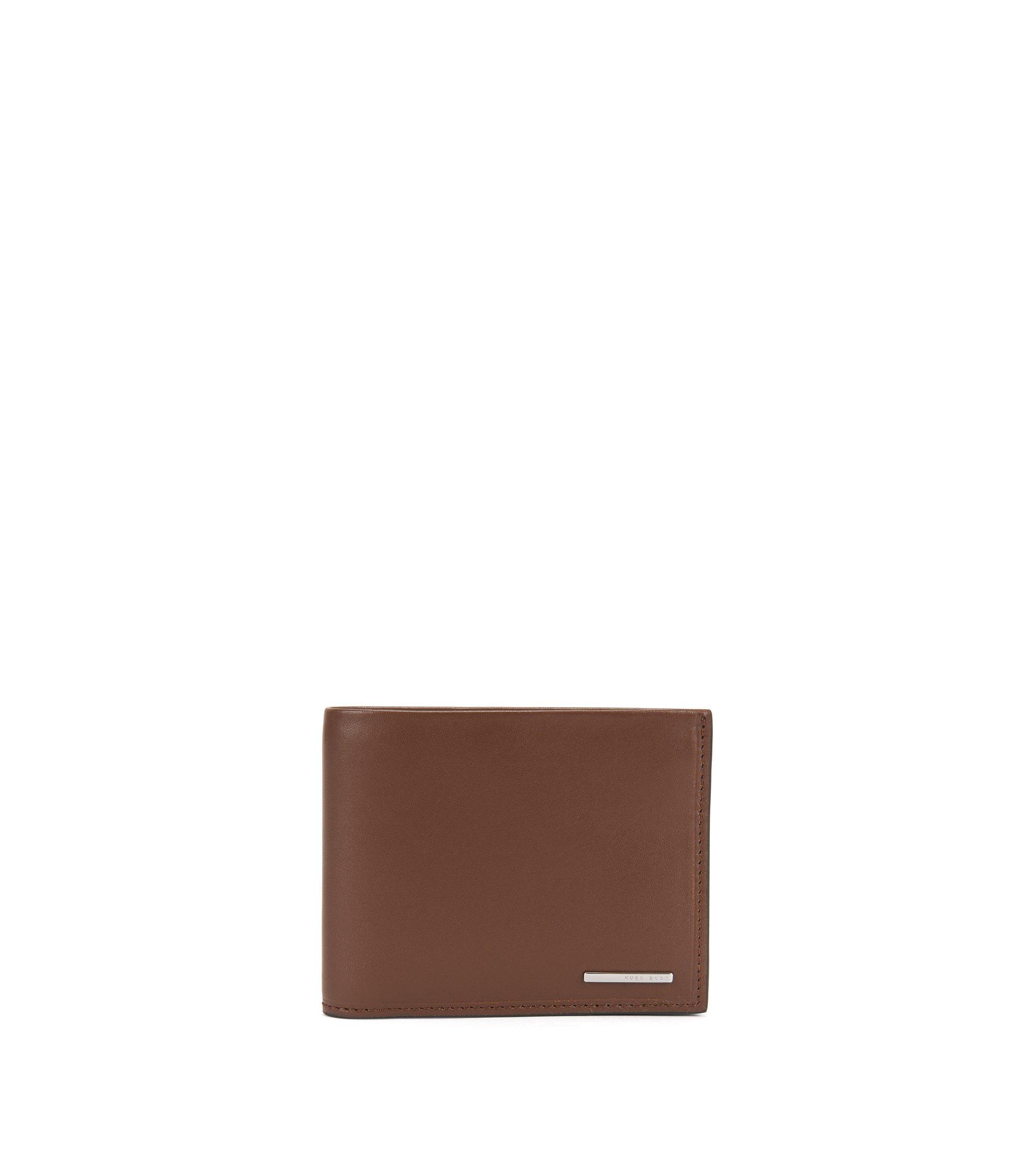 Leather Billfold Wallet | Ruben , Light Brown