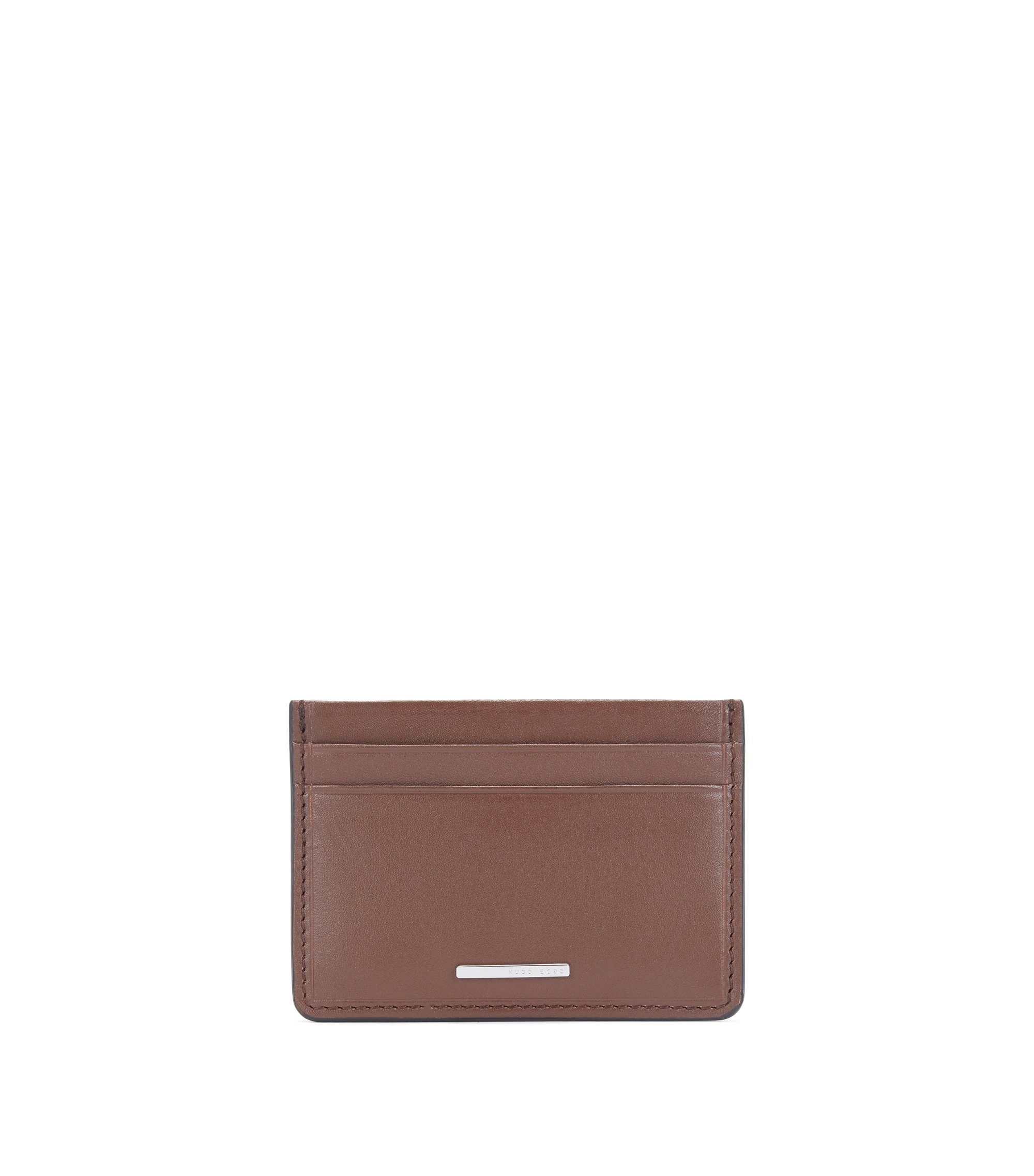 Leather Card Holder | Ruben S Card, Light Brown