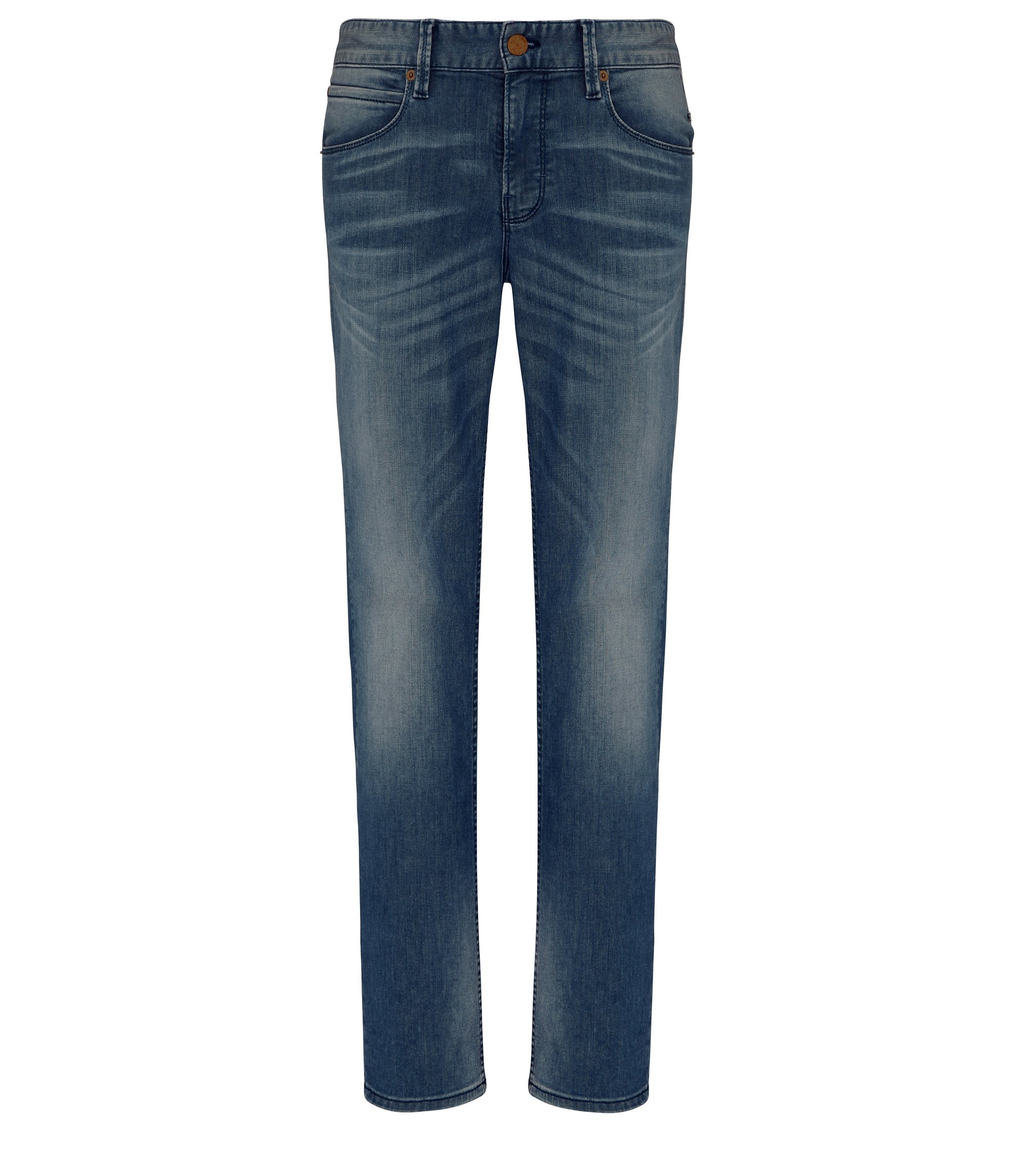 Stretch Cotton Blend Jean, Slim Fit | Orange63, Blue
