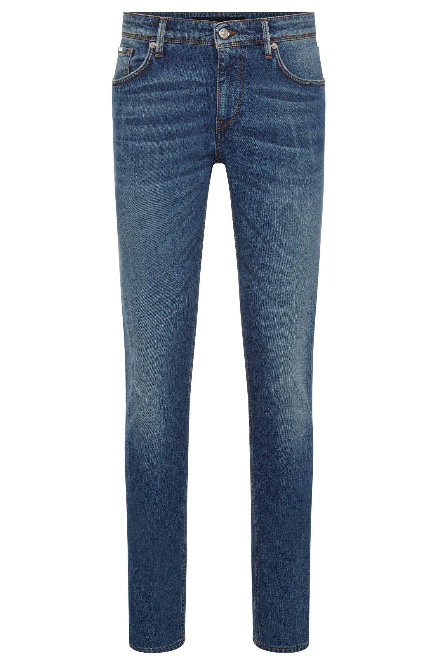 'Charleston' | Extra Slim Fit, 10.5 oz Italian Stretch Cotton Jeans