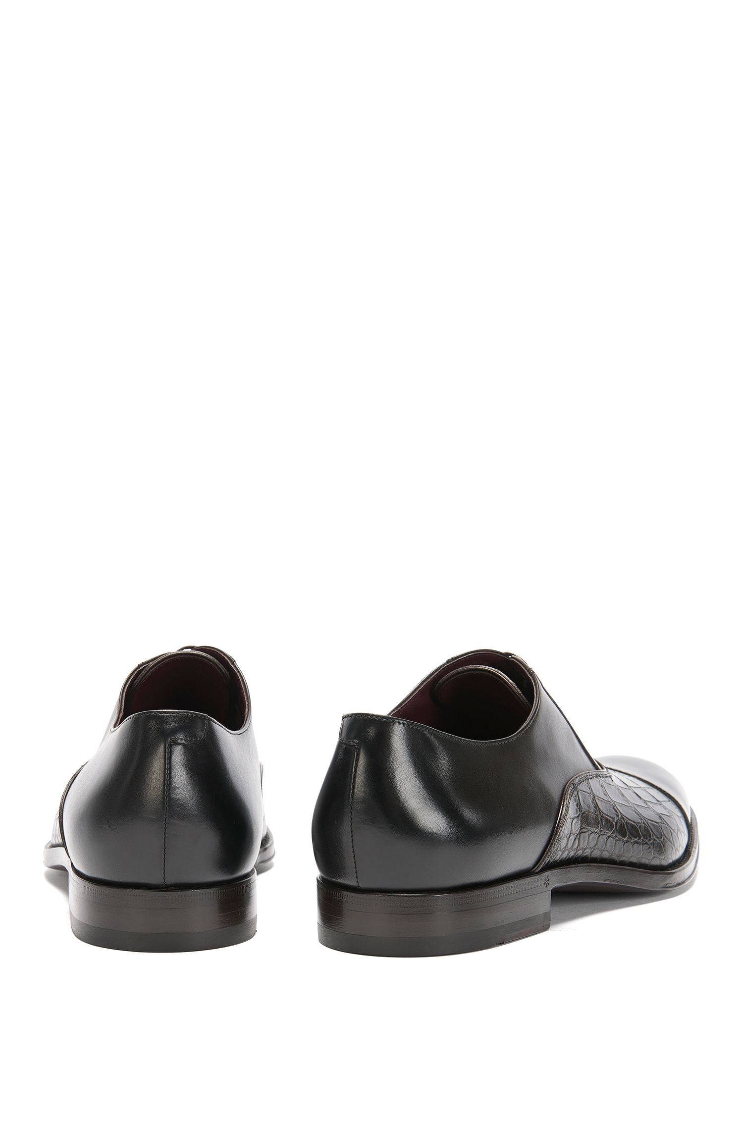 Embossed Leather Oxford Dress Shoe | T-Legend Oxfr Exct