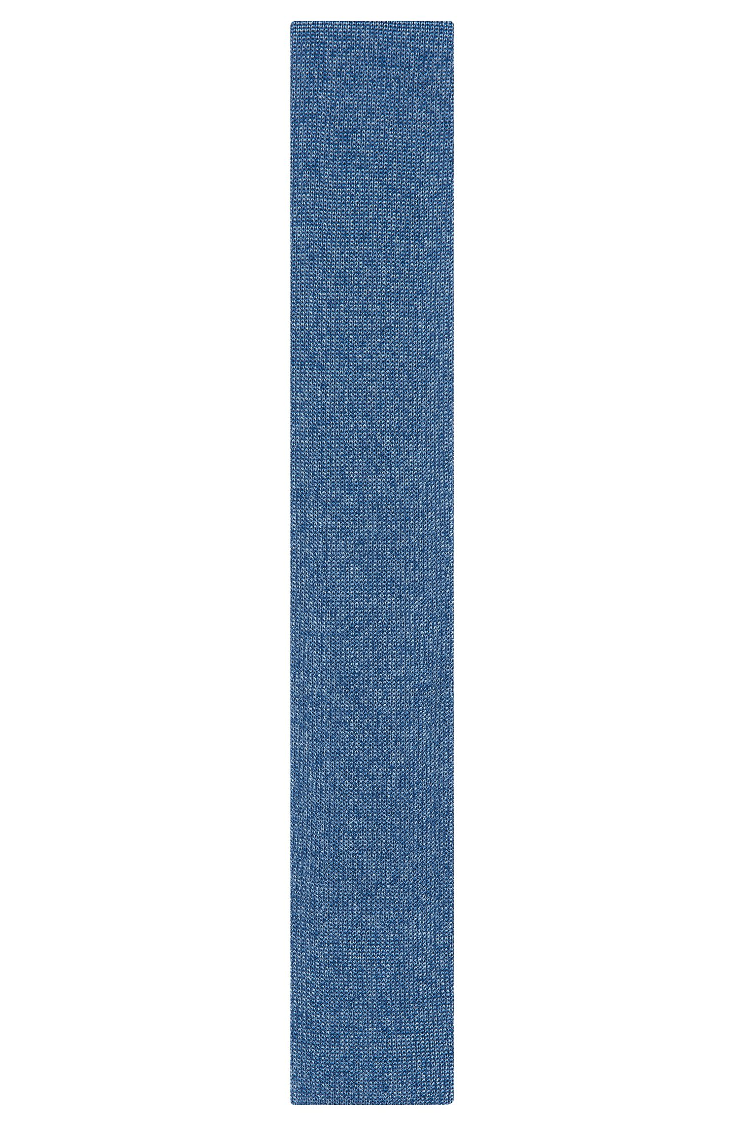 'T-Tie 6 cm Knitted'   Knitted Silk Tie