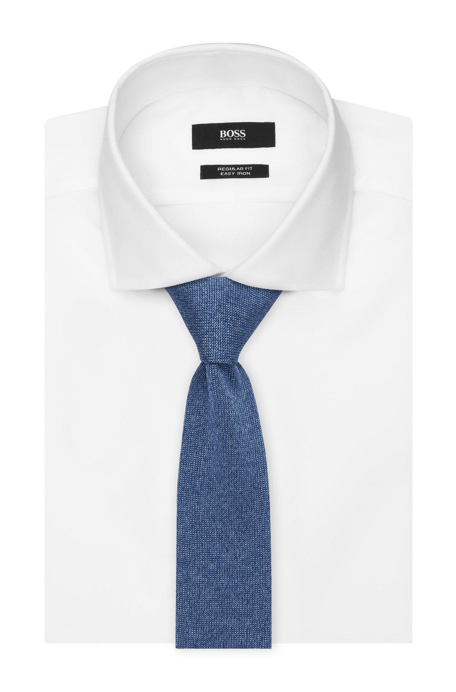 Italian Silk Knit Slim Tie