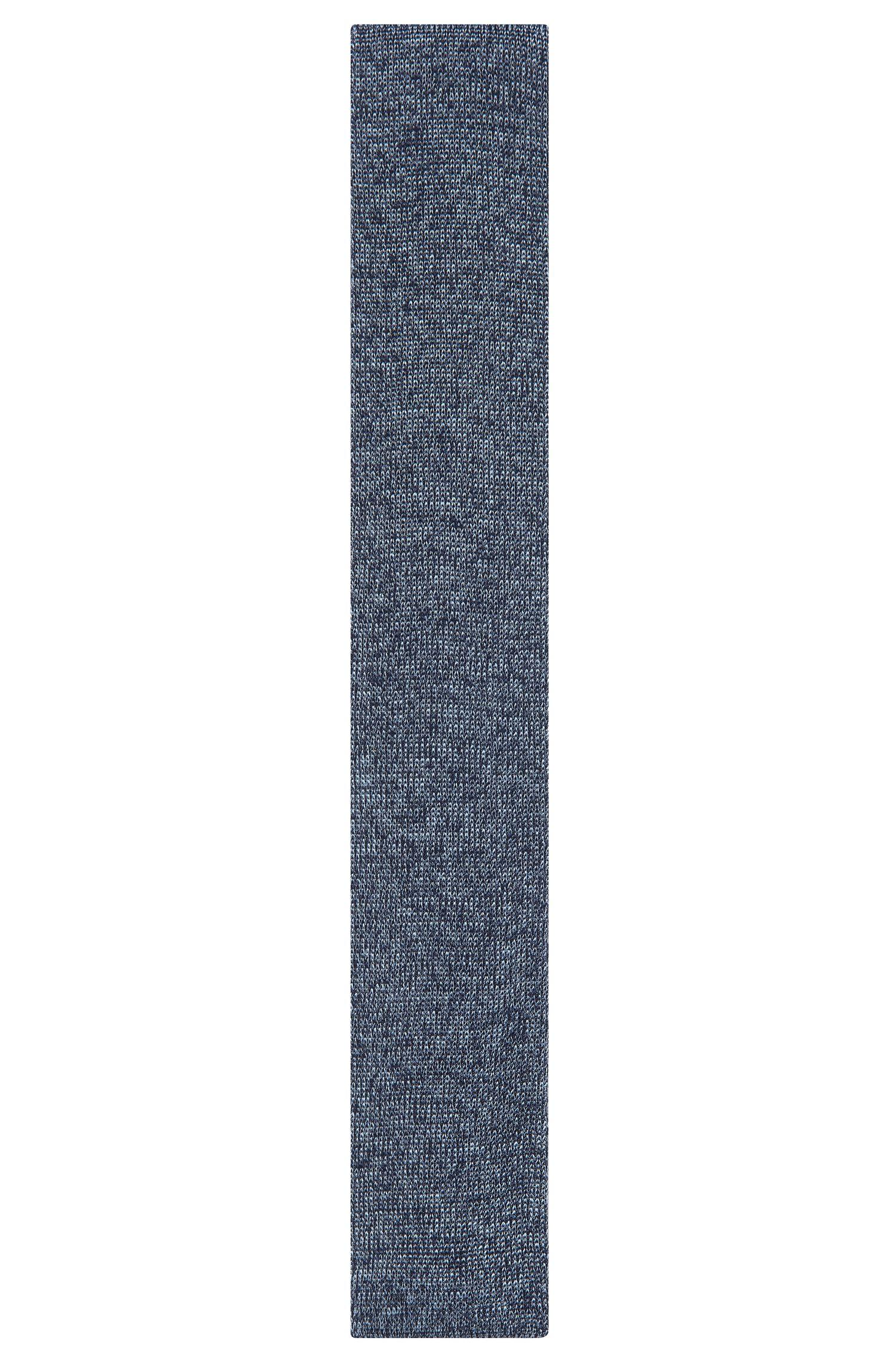 Knitted Silk Tie, Slim | T-Tie 6 cm Knitted