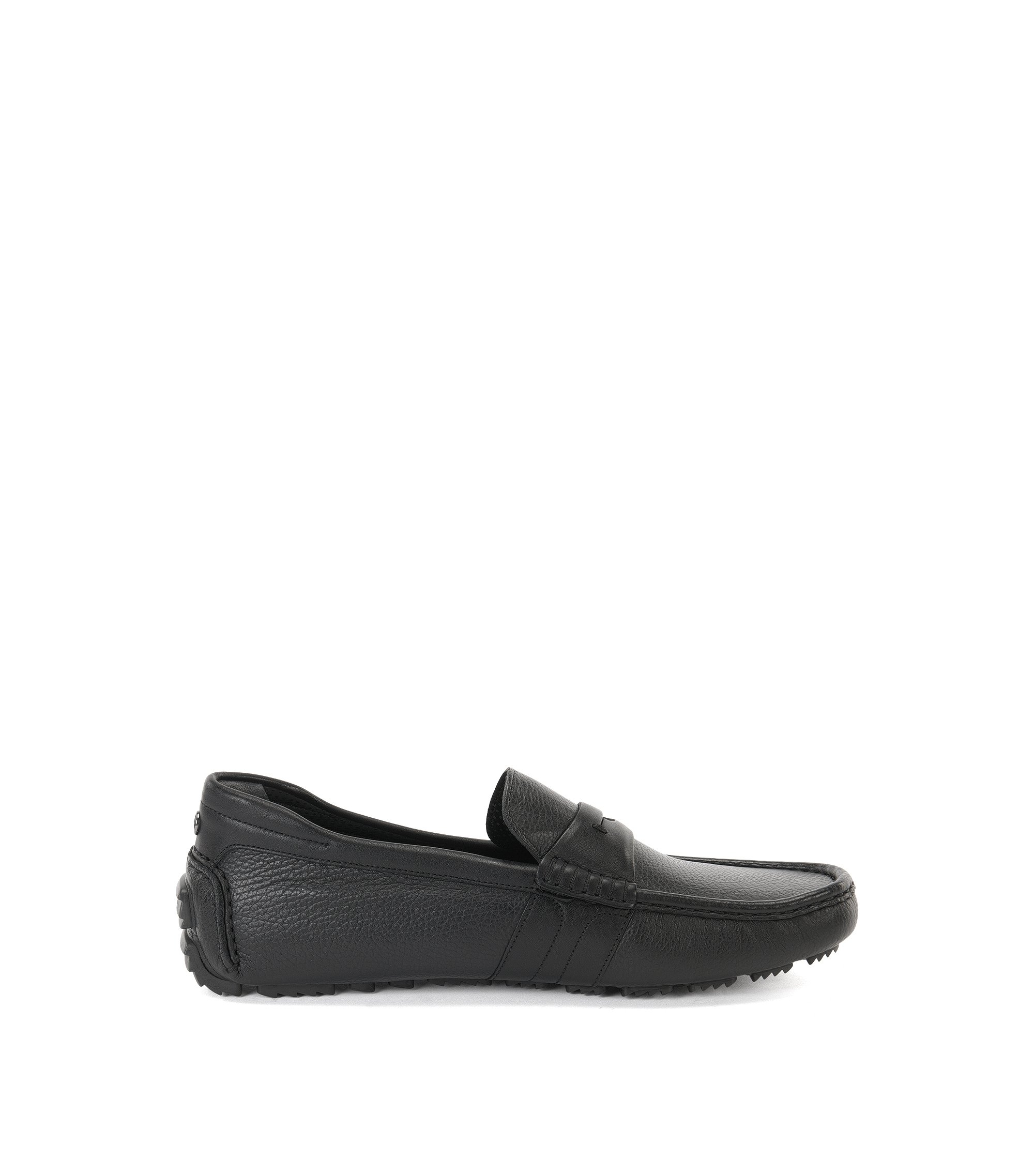 Mercedes-Benz Italian Leather Driving Loafer | Driver Mocc Gr, Black
