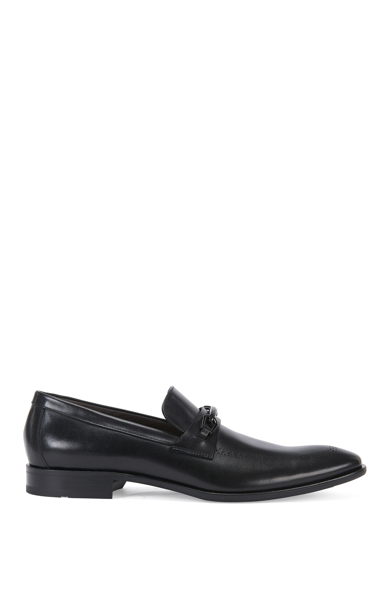 Italian Leather Horsebit Loafer Dress Shoe | Chelsea Loaf Apls