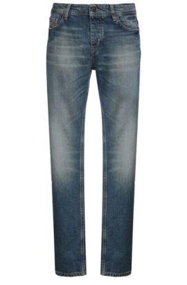 12 oz Cotton Blend Jeans, Slim Fit | Orange90, Blue