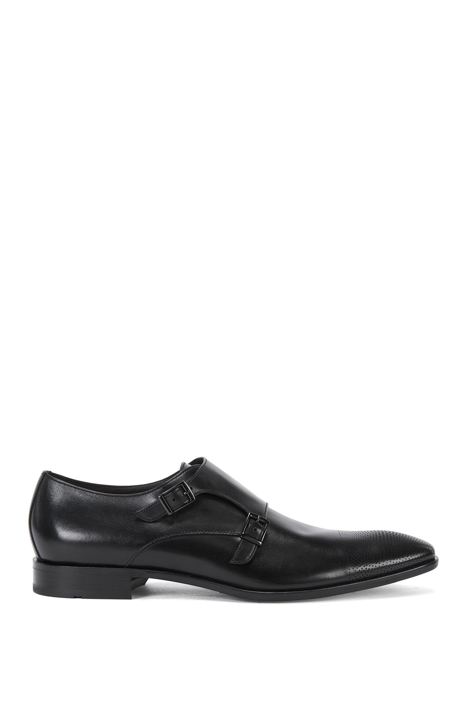Leather Monk Strap Dress Shoe | Chelsea Monk Clts