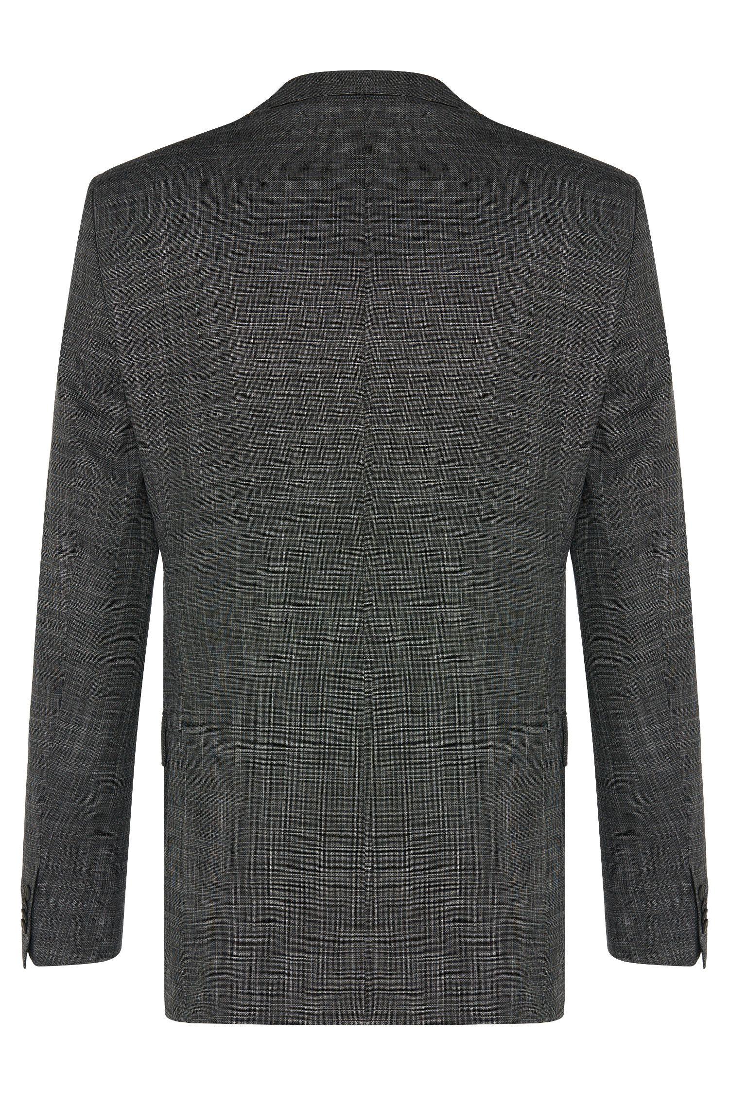 Stretch Wool Blend 3-Piece Suit, Slim Fit   Hutson/Gander WE