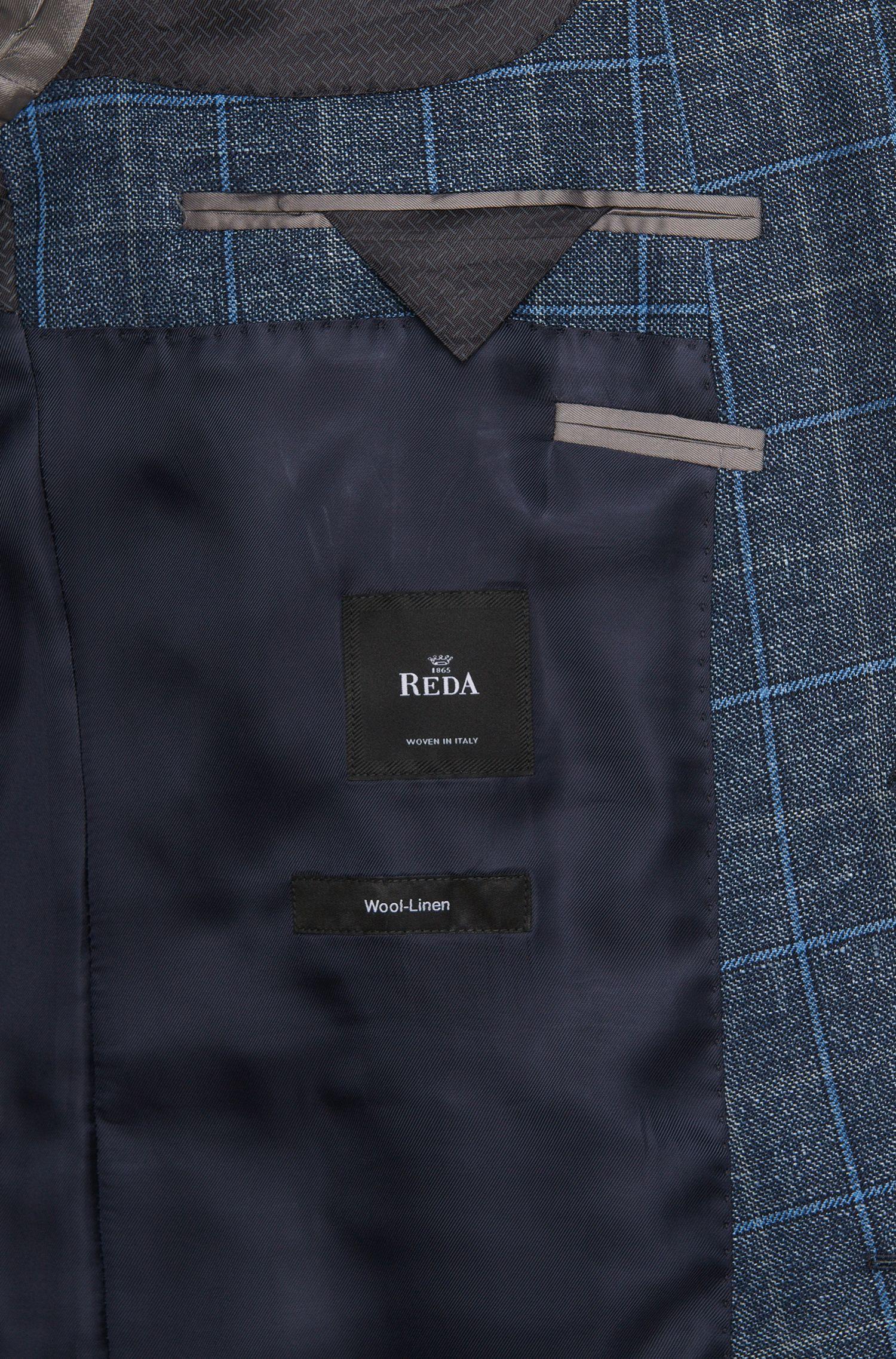Italian Linen Virgin Wool Sport Coat, Slim Fit | Hutsons