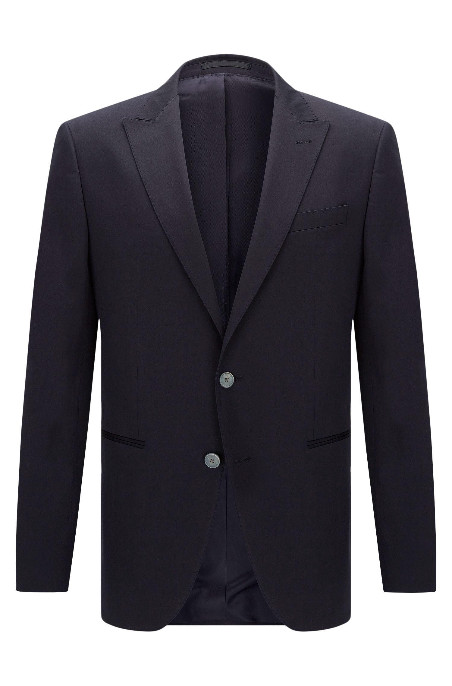 Stretch Cotton Sport Coat, Slim Fit | Hanwyn