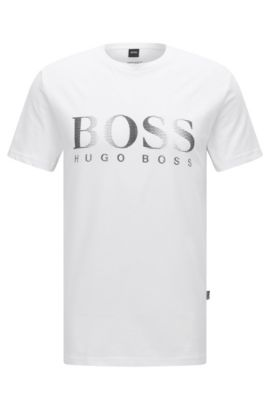 Logo Cotton UV T-Shirt | T-Shirt RN, White