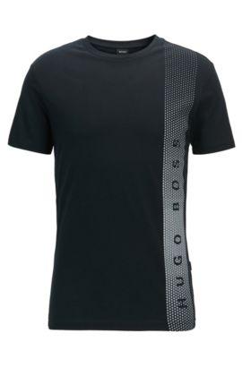 Cotton Logo UV T-Shirt | T-Shirt RN, Black