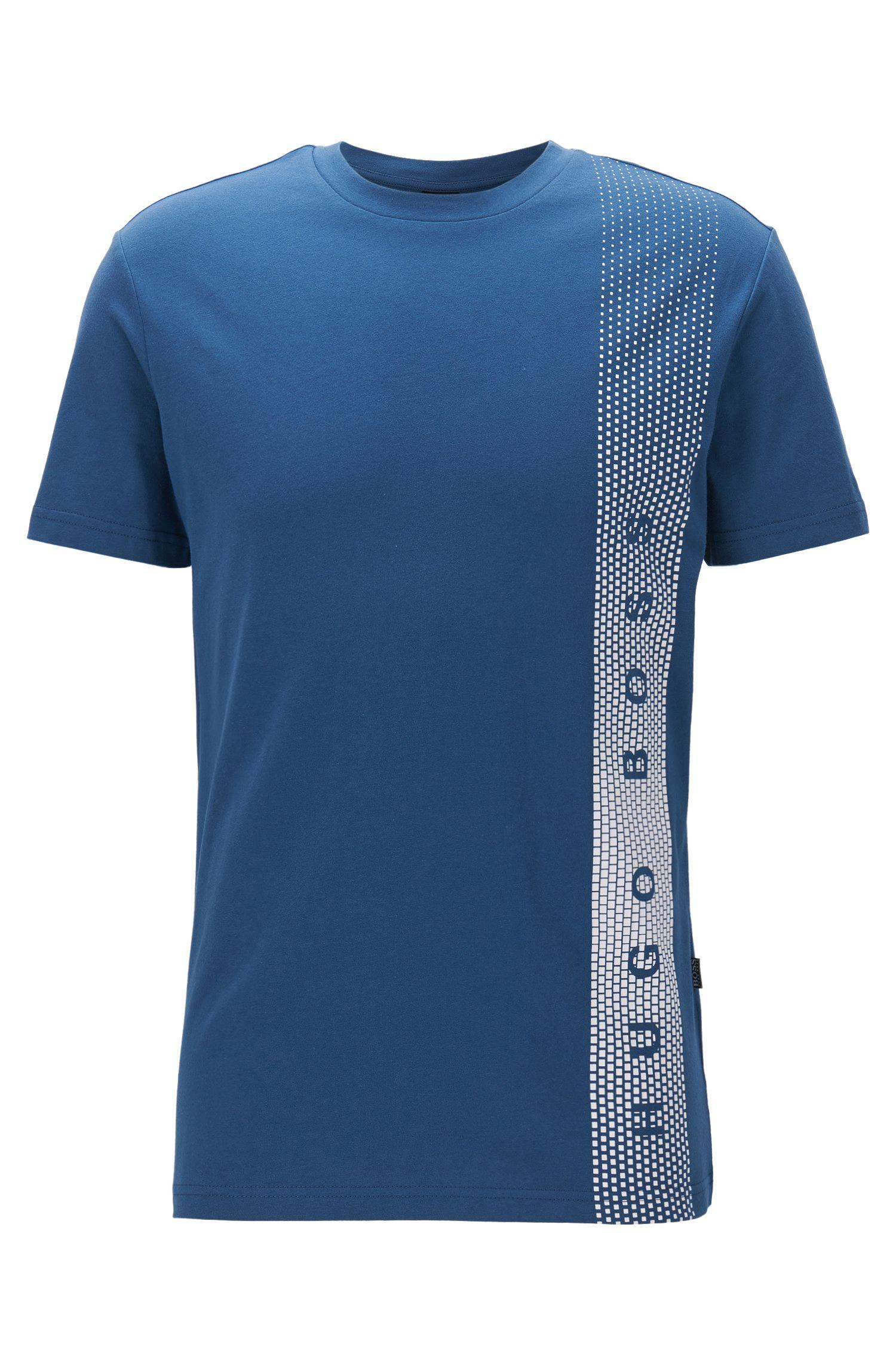 Cotton Logo UV T-Shirt | T-Shirt RN, Dark Blue