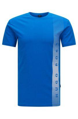 'T-Shirt RN' | Cotton Logo UV T-Shirt, Blue