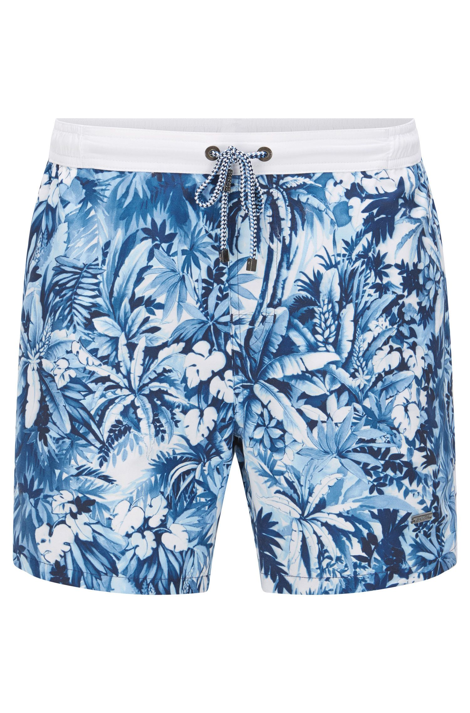 Quick Dry Drawstring Swim Trunk | Mandarinfish