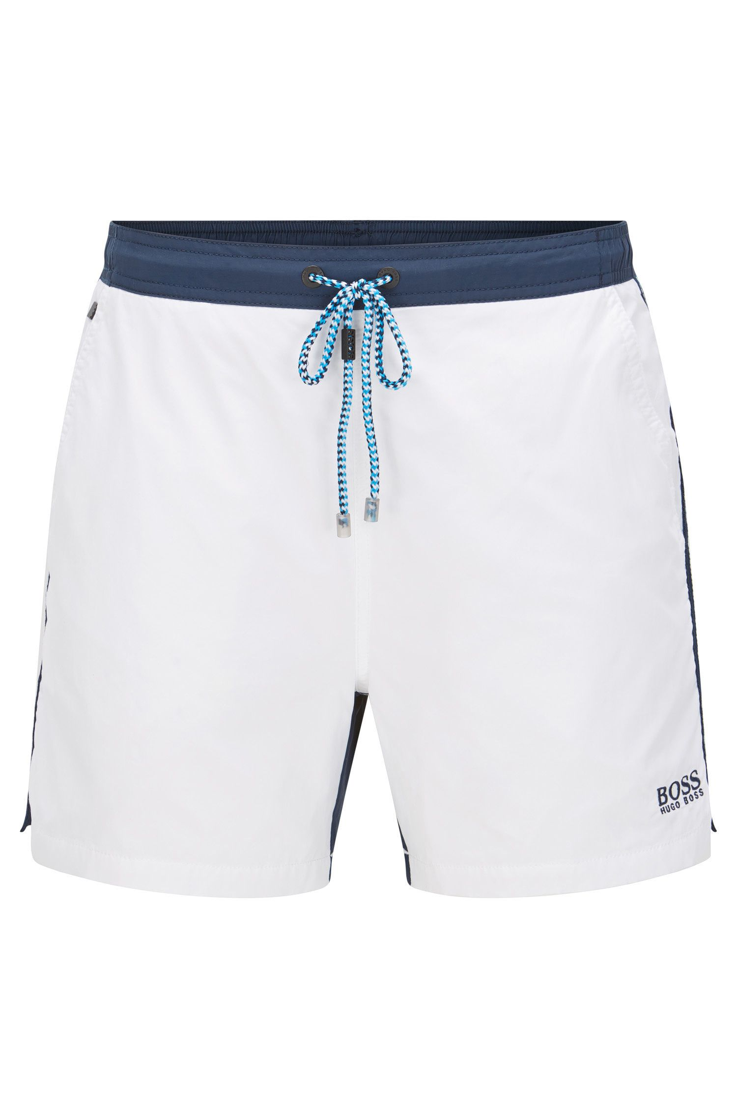 Quick Dry Patterned Swim Trunk | Snapper