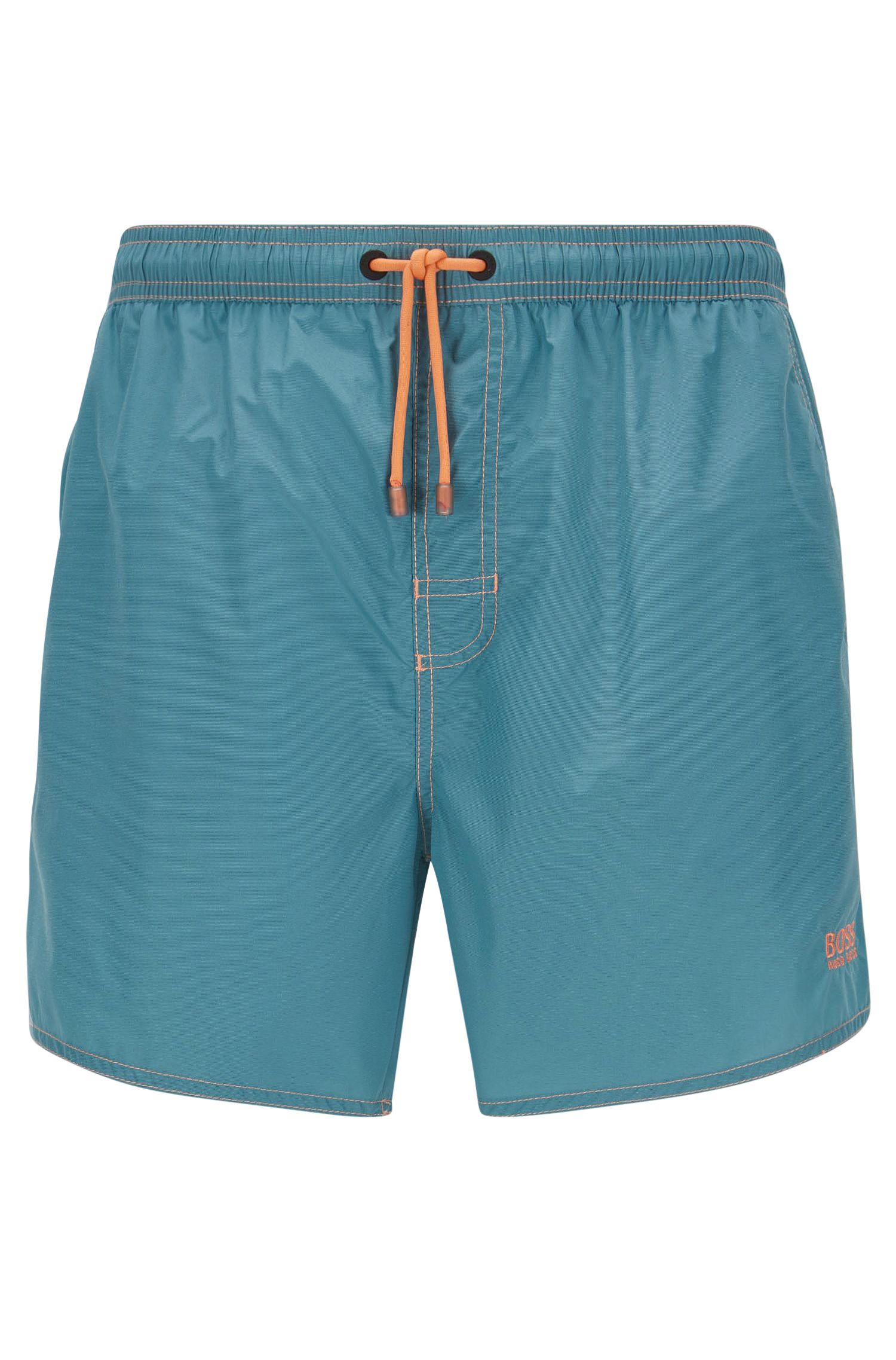 Quick Dry Swim Trunks | Lobster, Light Blue