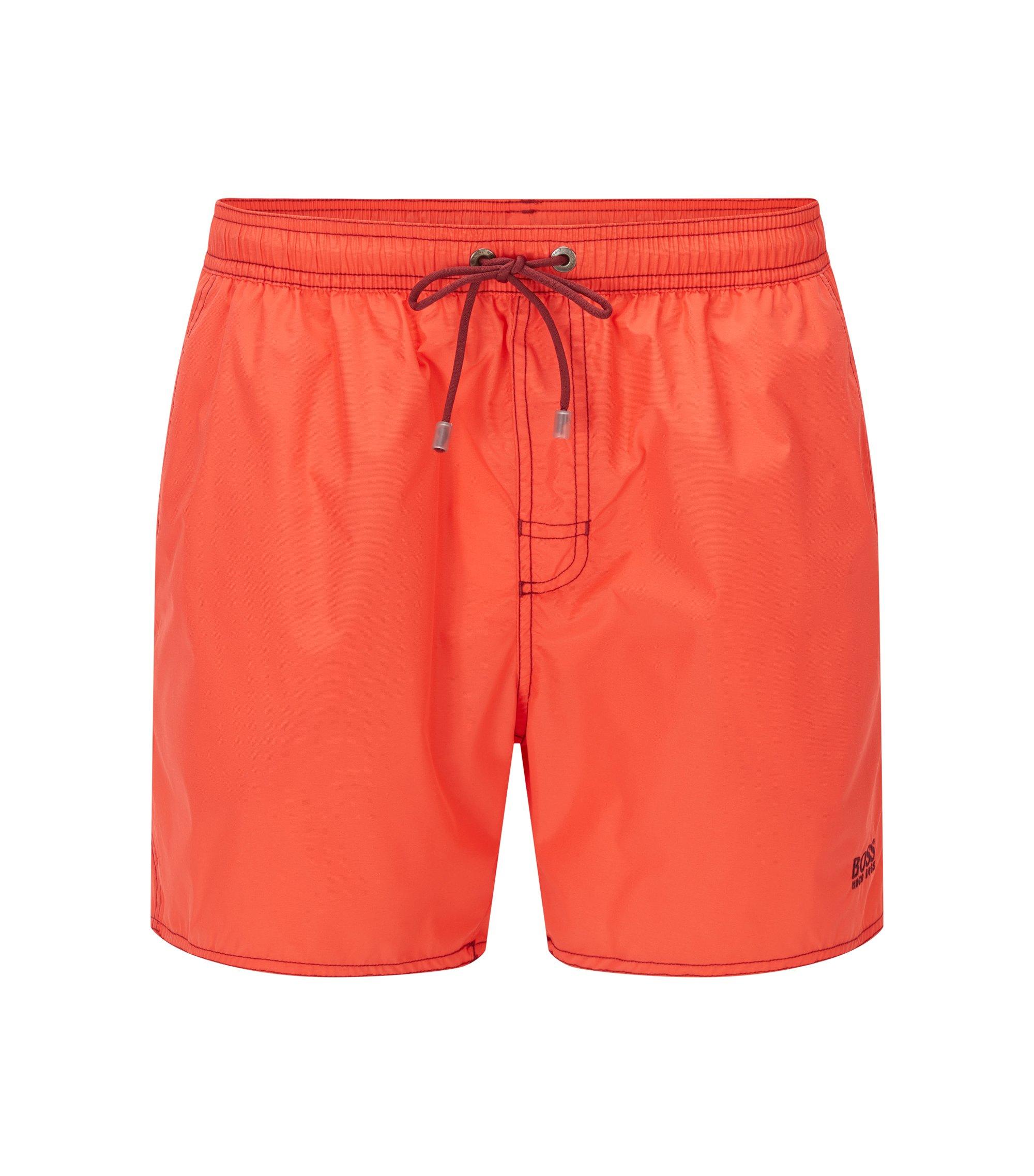 Quick Dry Swim Trunks | Lobster, Light Red