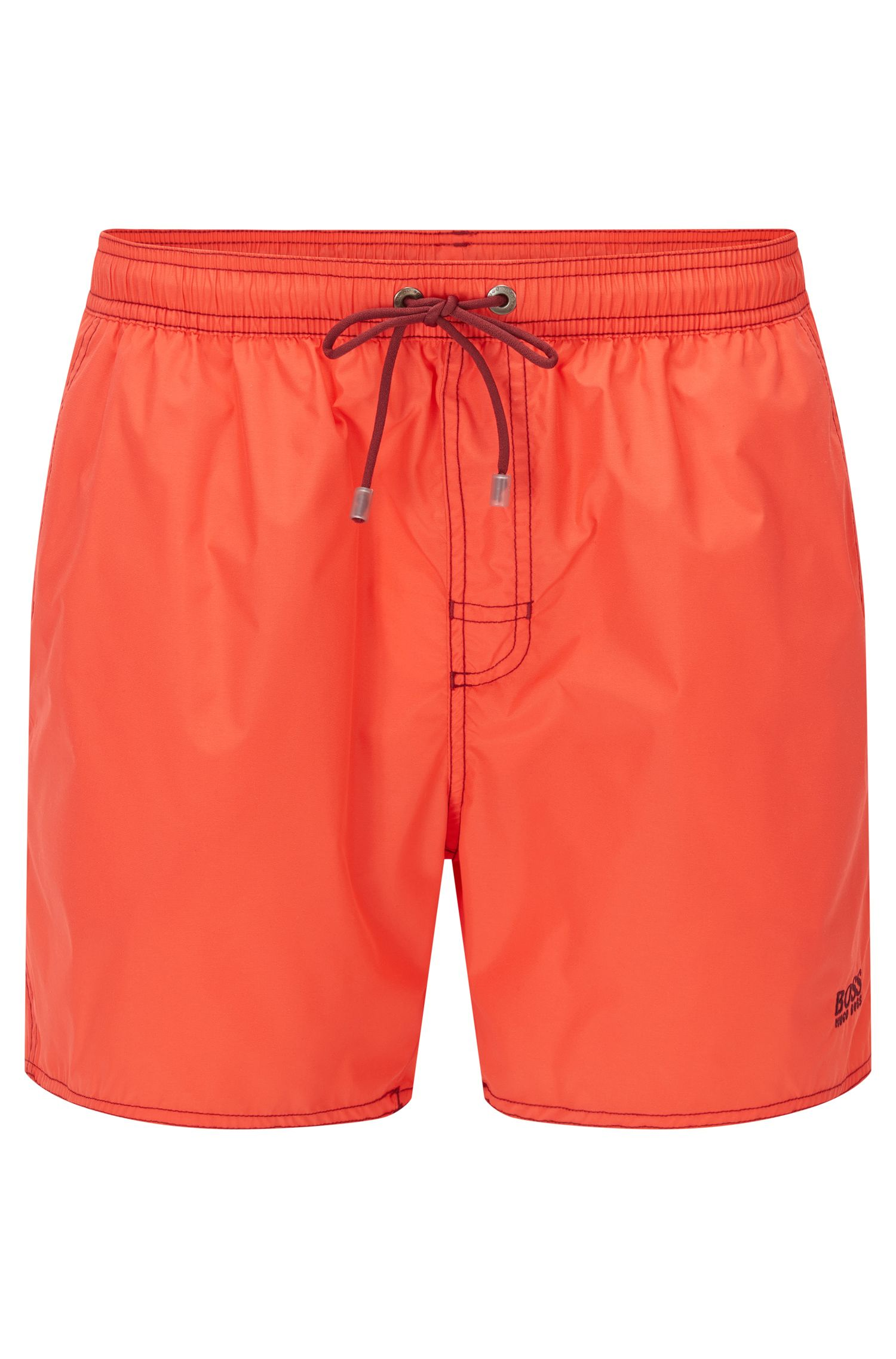 Quick Dry Swim Trunks | Lobster, Light Red