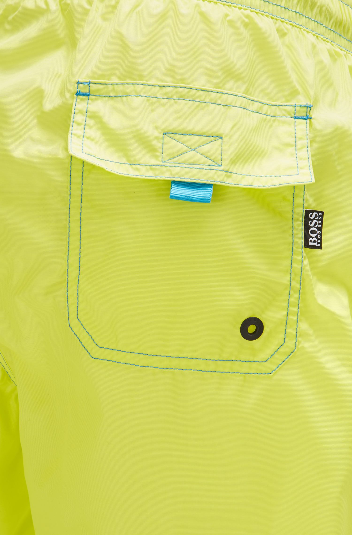 Quick Dry Swim Trunks | Lobster, Yellow