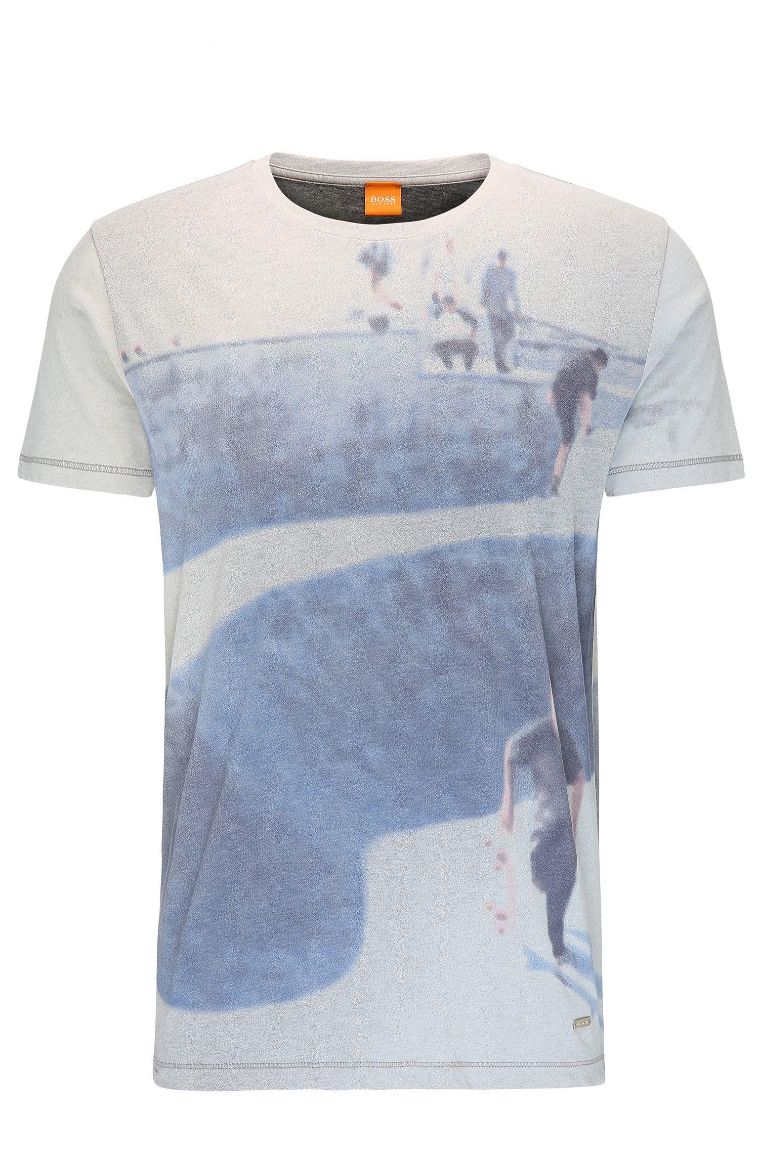Printed Cotton T-Shirt | Tintype
