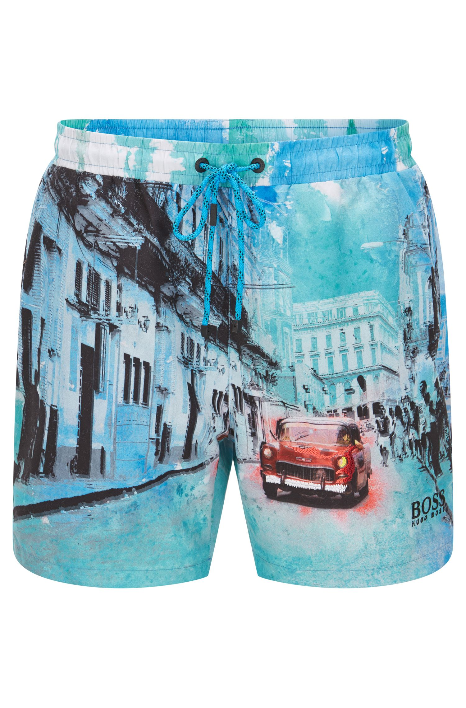 'Springfish' | Quick Dry Swim Trunks