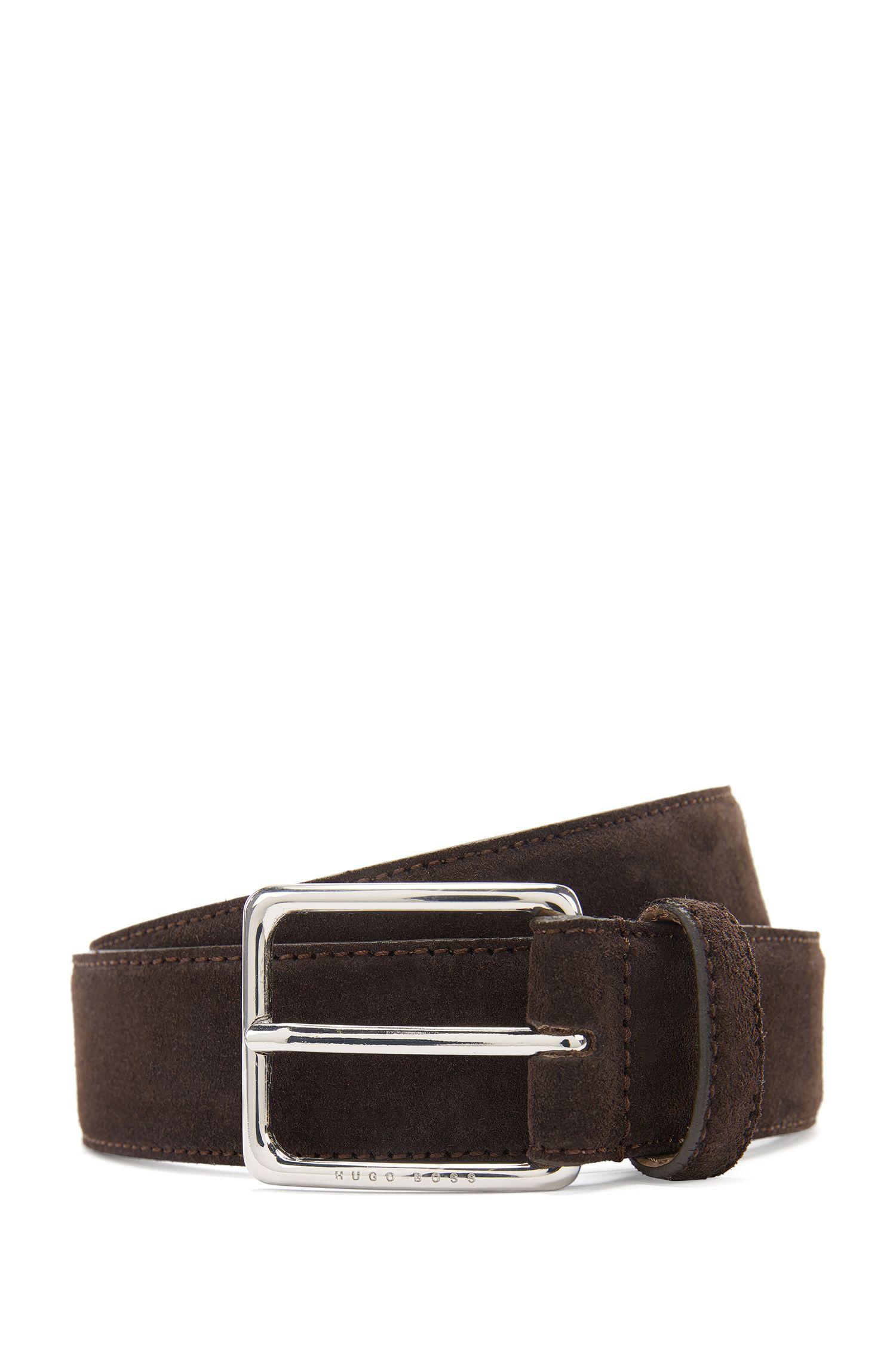 'Catioso Sz Sdpl' | Suede Leather Belt