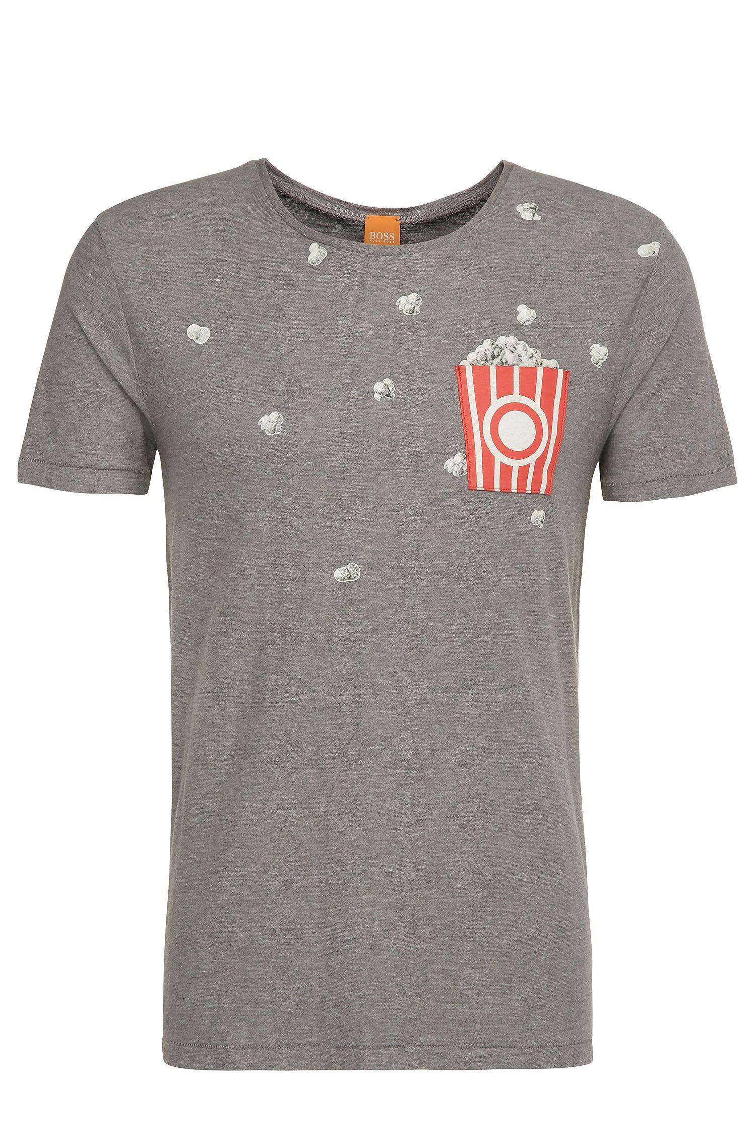 Cotton Slub Jersey Graphic T-Shirt | Toolbox