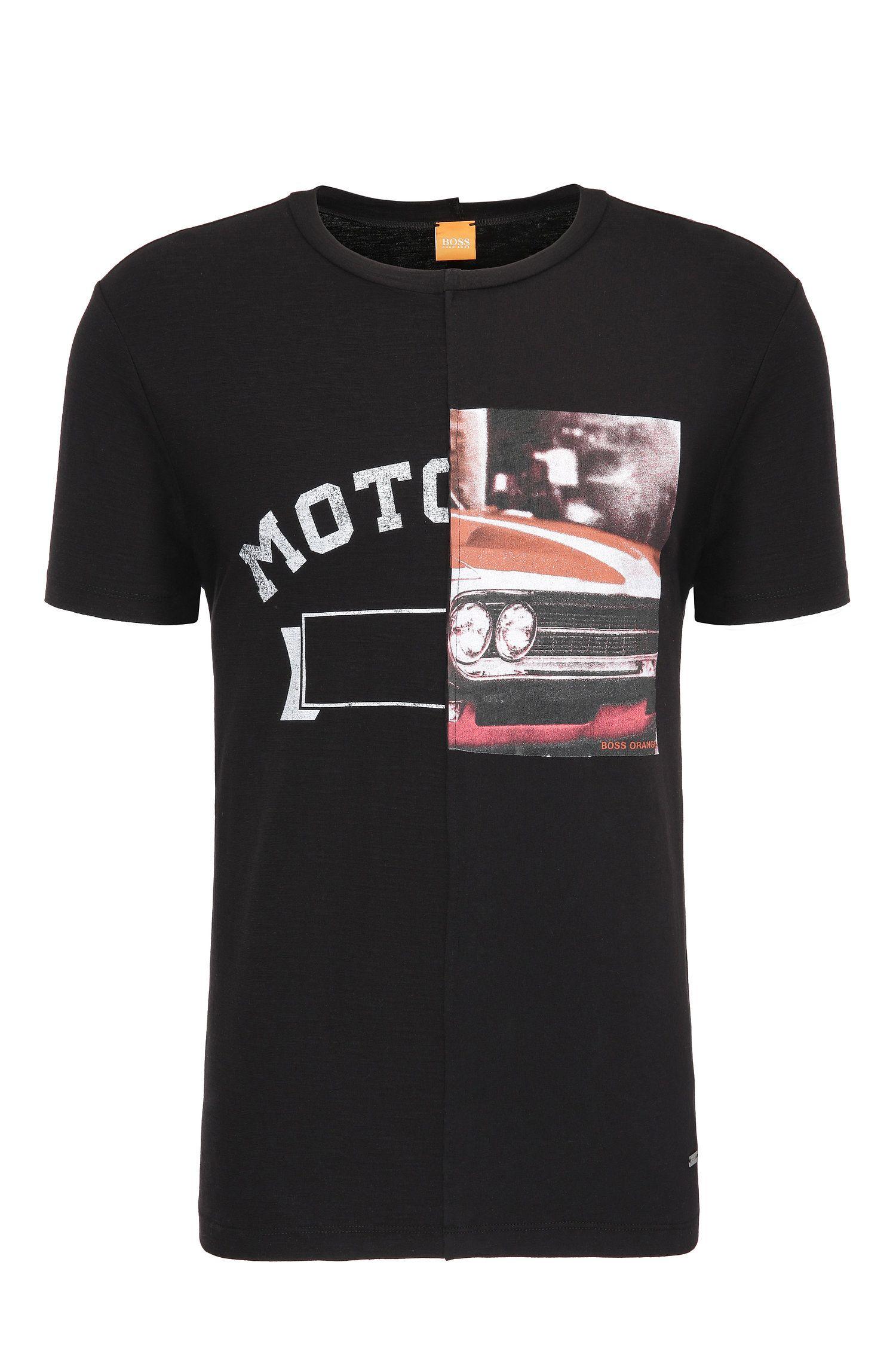'Toolbox'   Cotton Center Seam Printed T-Shirt