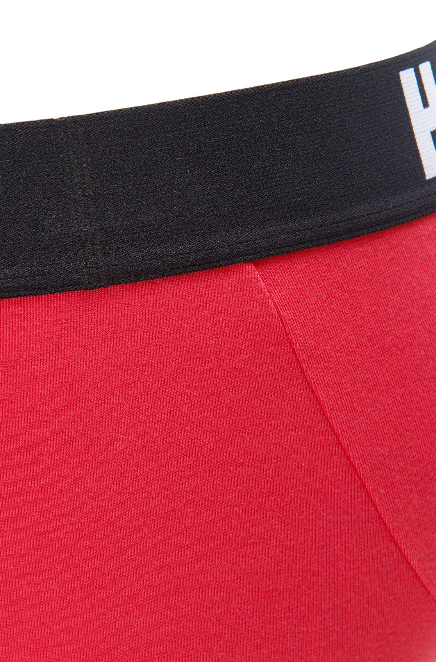 Stretch Cotton Modal Logo Trunk | Trunk Signature, Pink