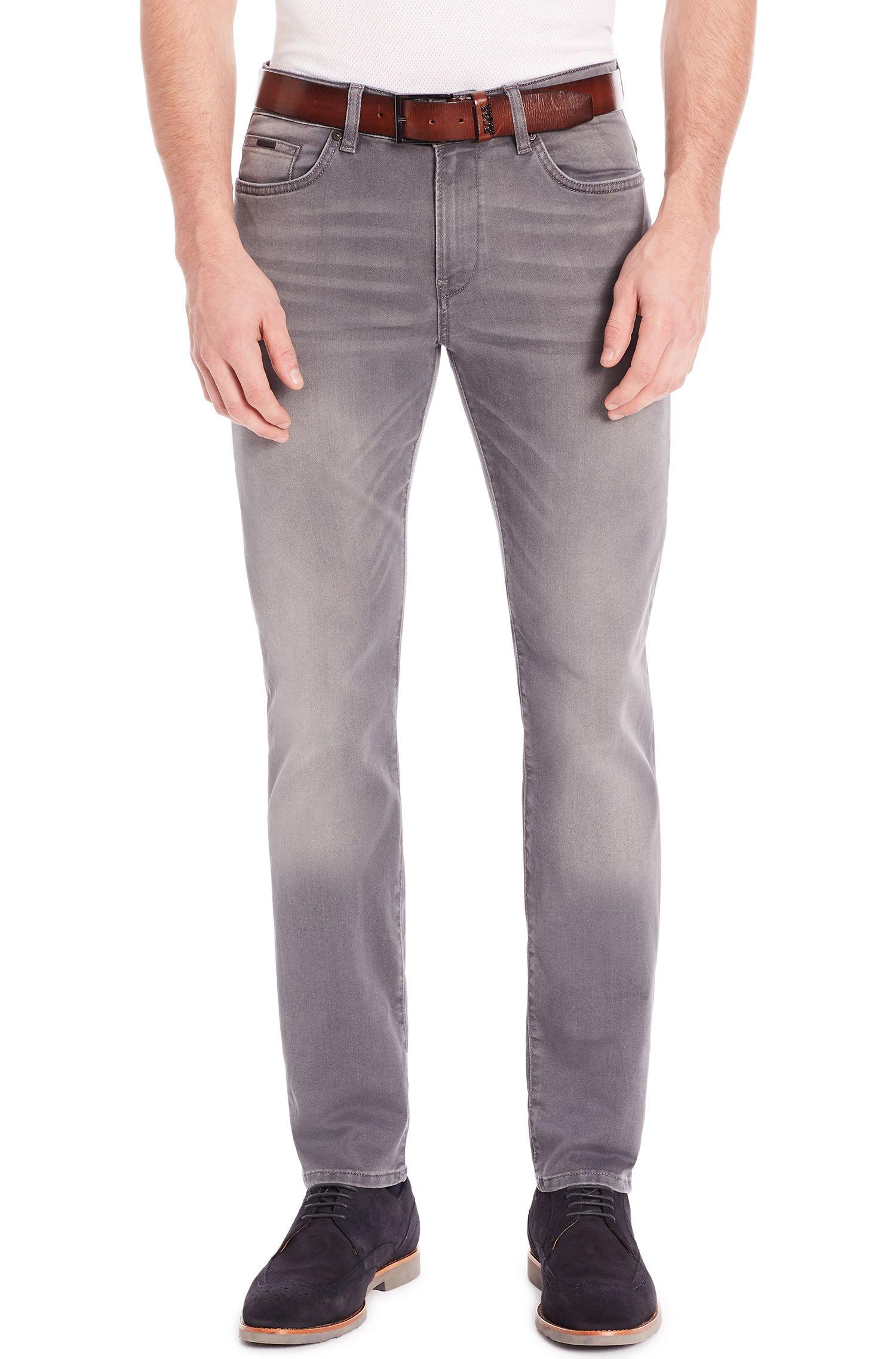 Stretch Cotton Blend Jean, Slim Fit | Delaware