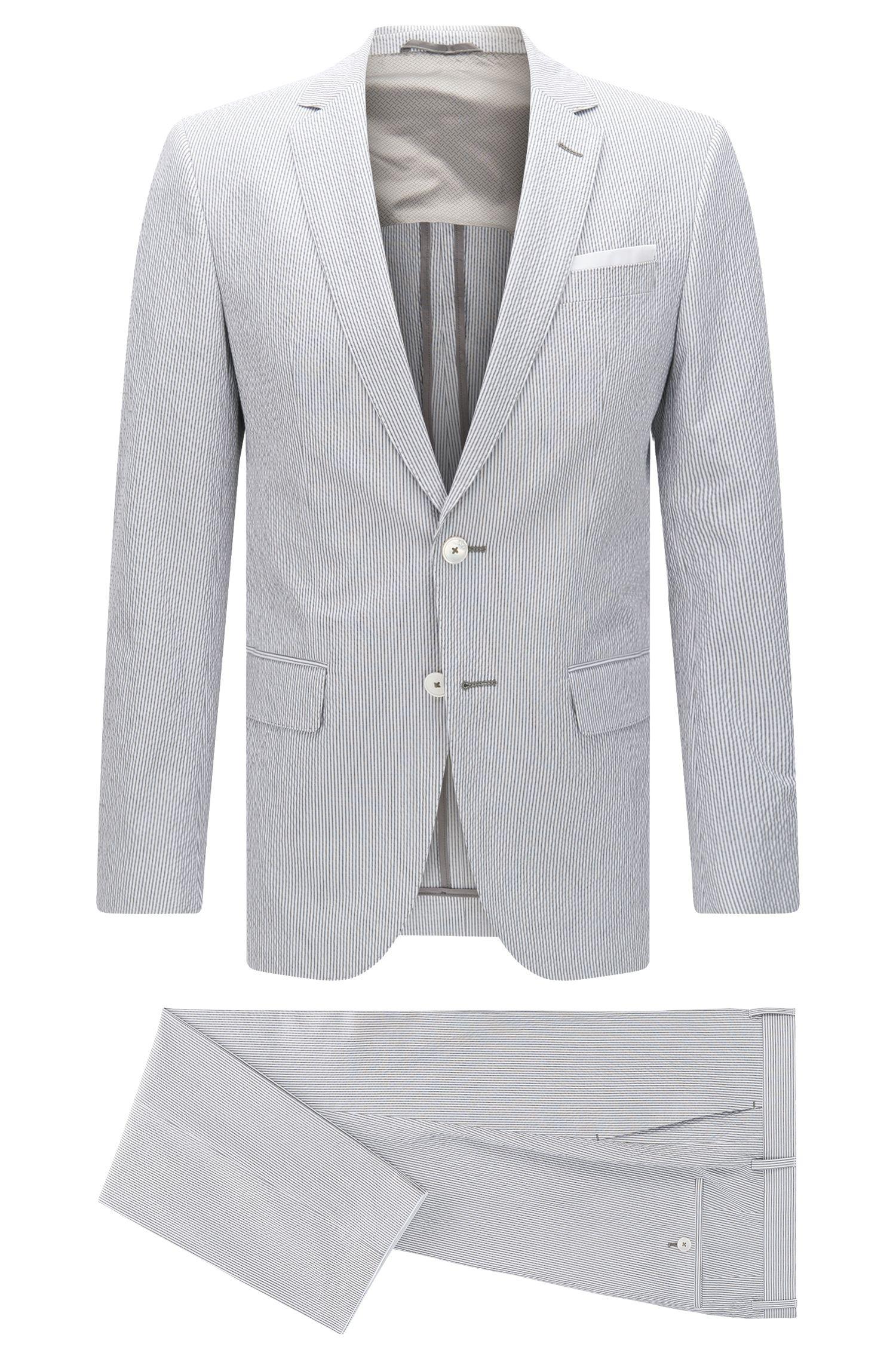 'Hedson/Gander' | Slim Fit, Seersucker Stretch Cotton Suit