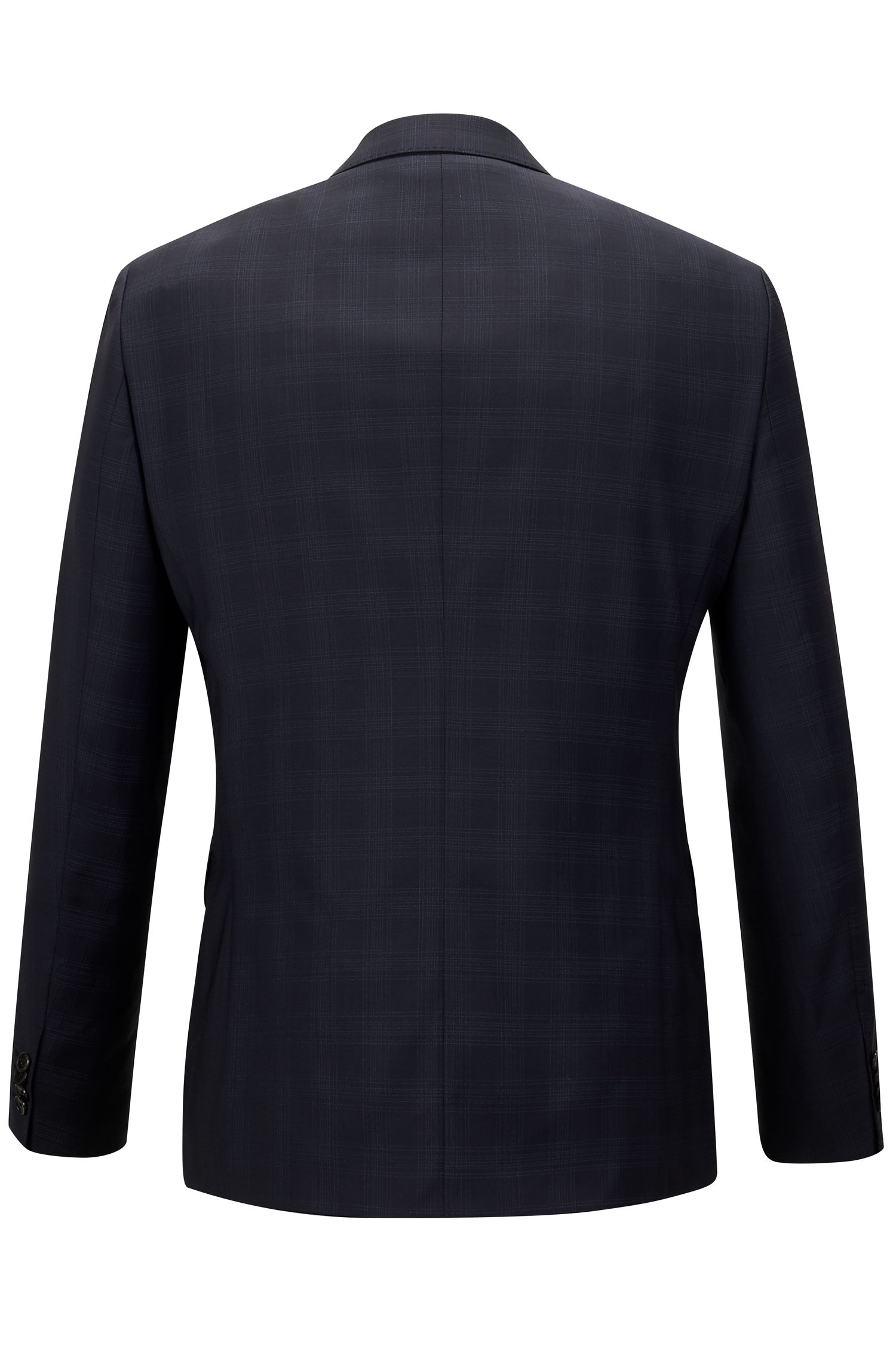 Super 100 Virgin Wool Suit, Regular Fit | Johnston/Lenon