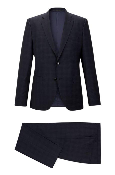 950a58566 BOSS - Super 100 Virgin Wool Suit, Regular Fit | Johnston/Lenon