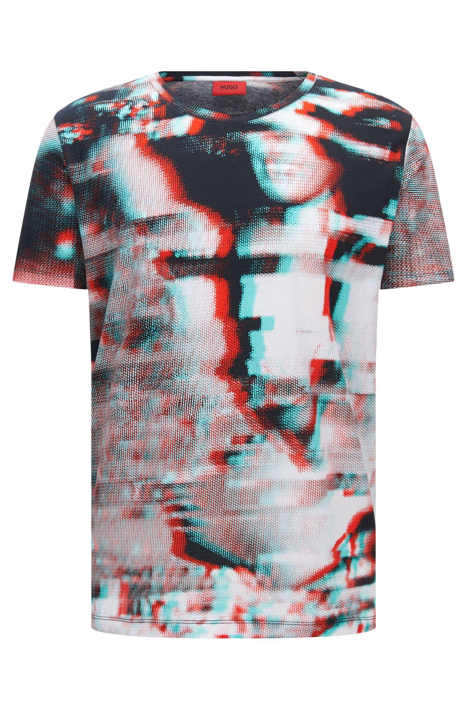 'Dilm' | Regular Fit, Cotton T-Shirt