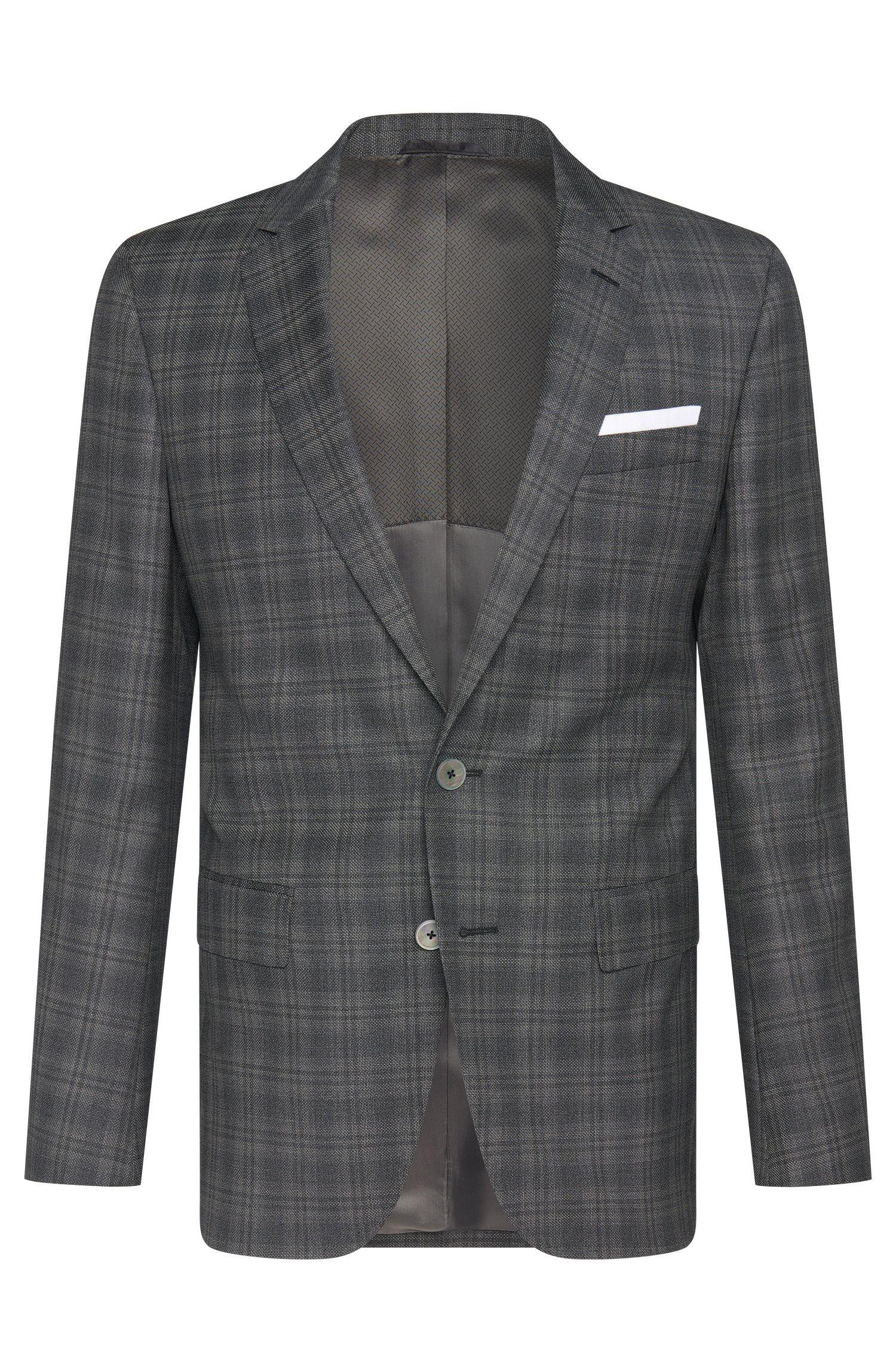 'Hutsons' | Slim Fit, Super 100 Italian Virgin Wool Sport Coat