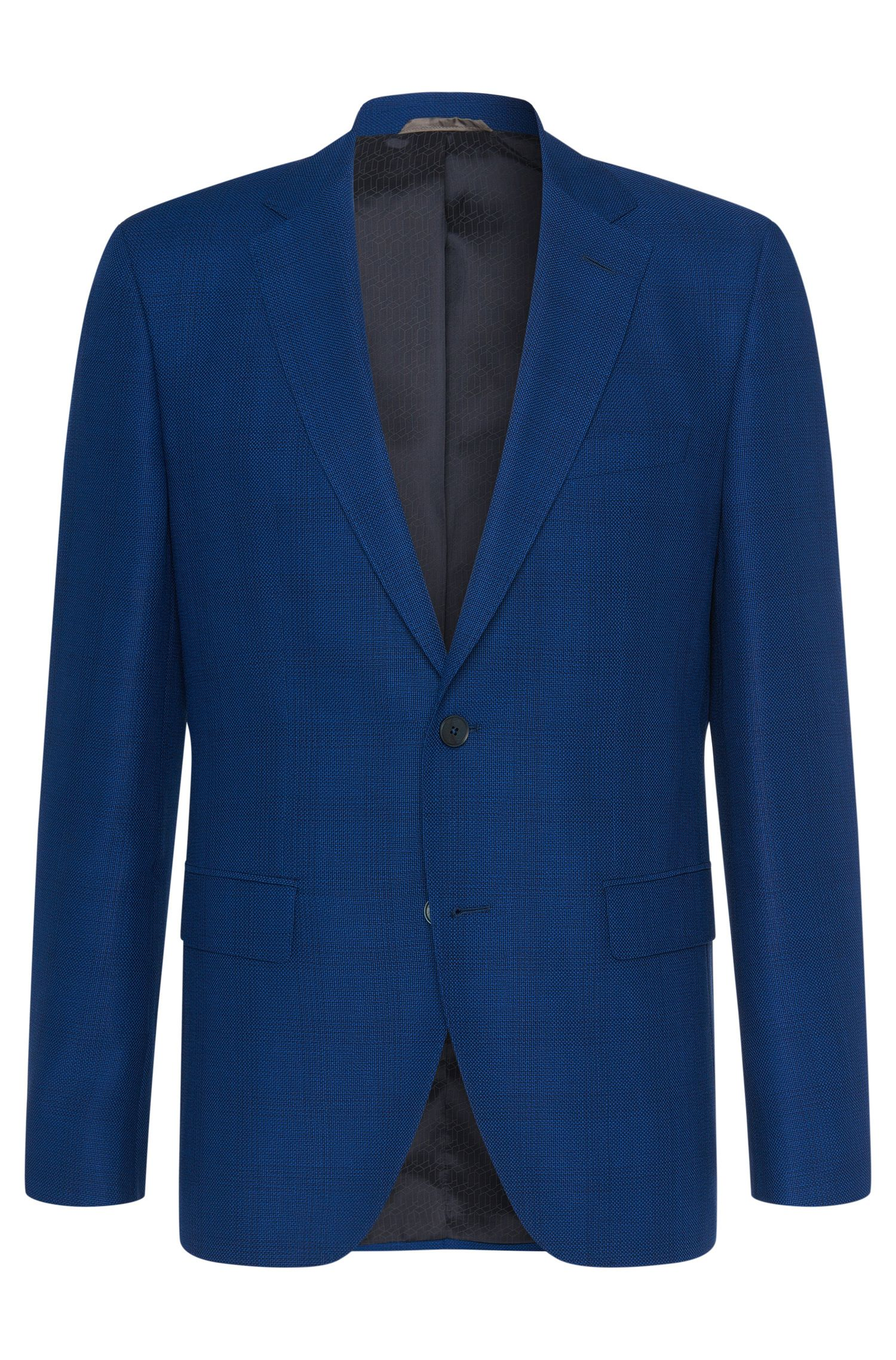 Super 100 Virgin Wool Sport Coat, Regular Fit | Jewels