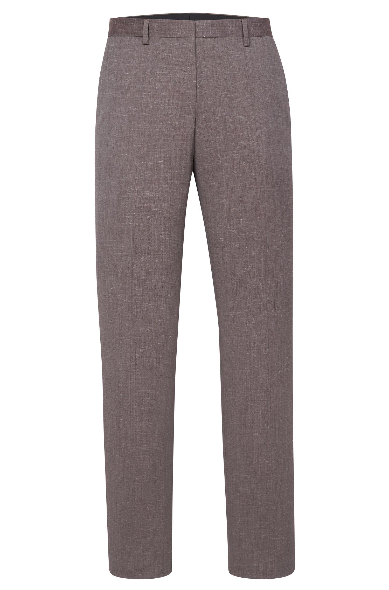 'Benso' | Slim Fit, Super 100 Virgin Wool Dress Pants